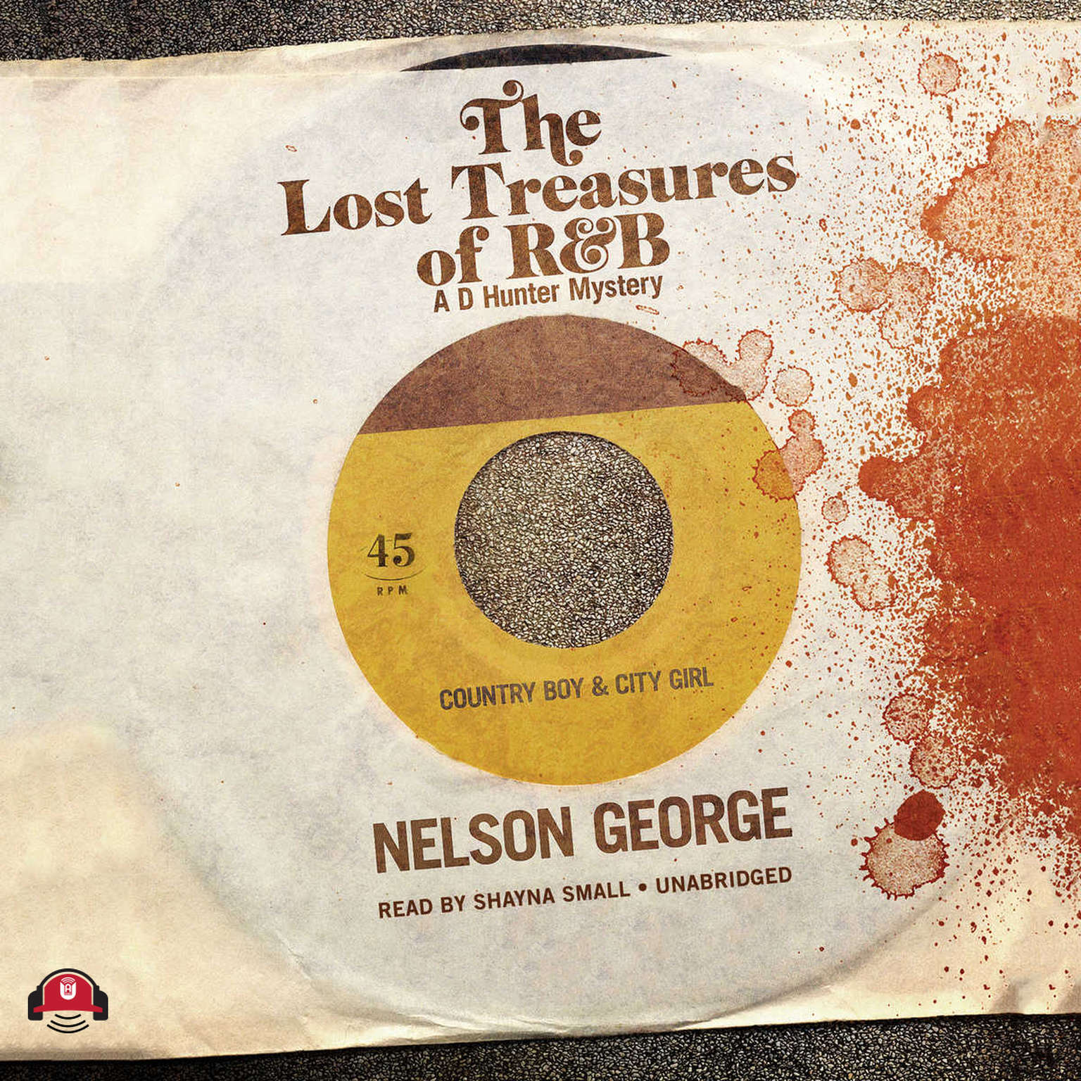 Printable The Lost Treasures of R&B Audiobook Cover Art