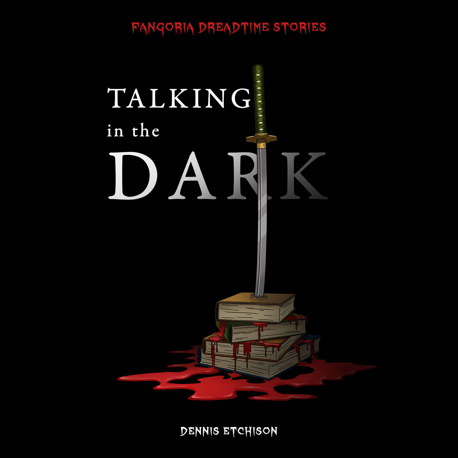 Printable Talking in the Dark Audiobook Cover Art