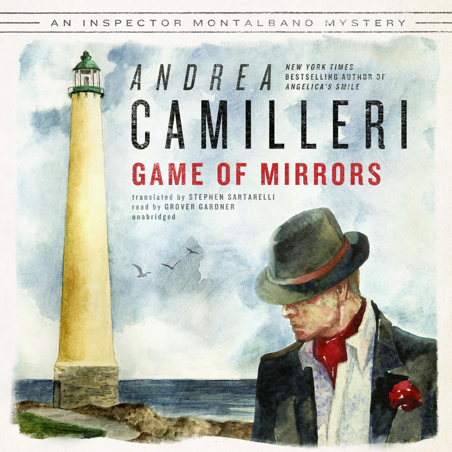 Printable Game of Mirrors Audiobook Cover Art