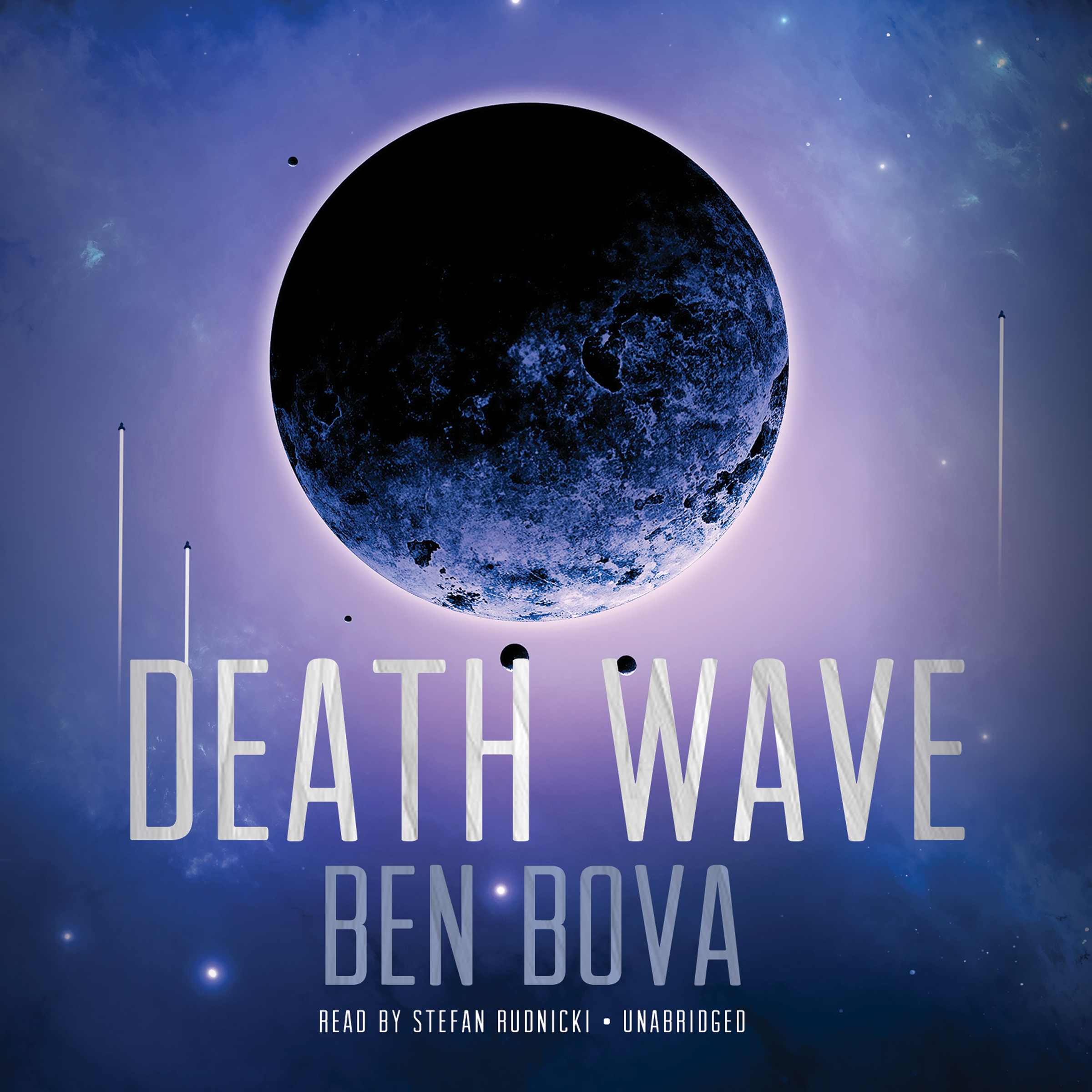 Printable Death Wave Audiobook Cover Art
