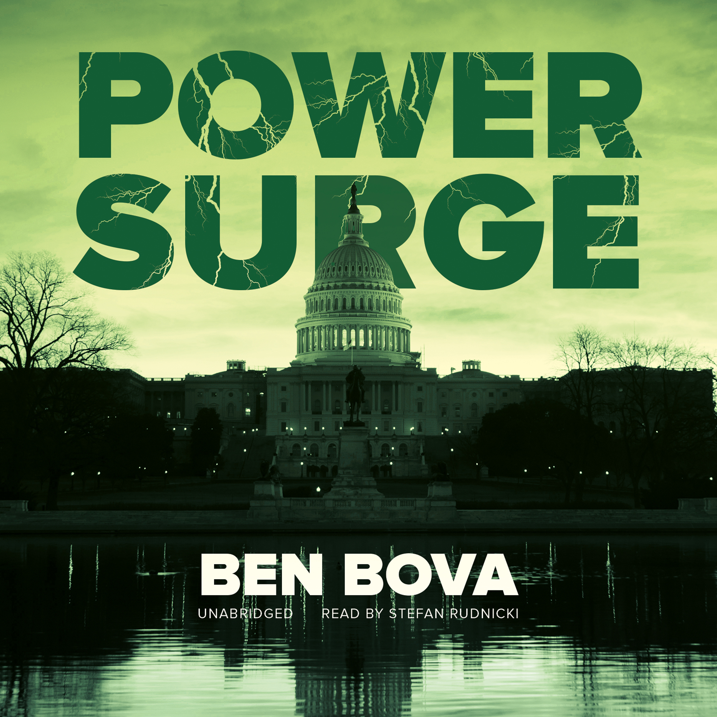 Printable Power Surge Audiobook Cover Art