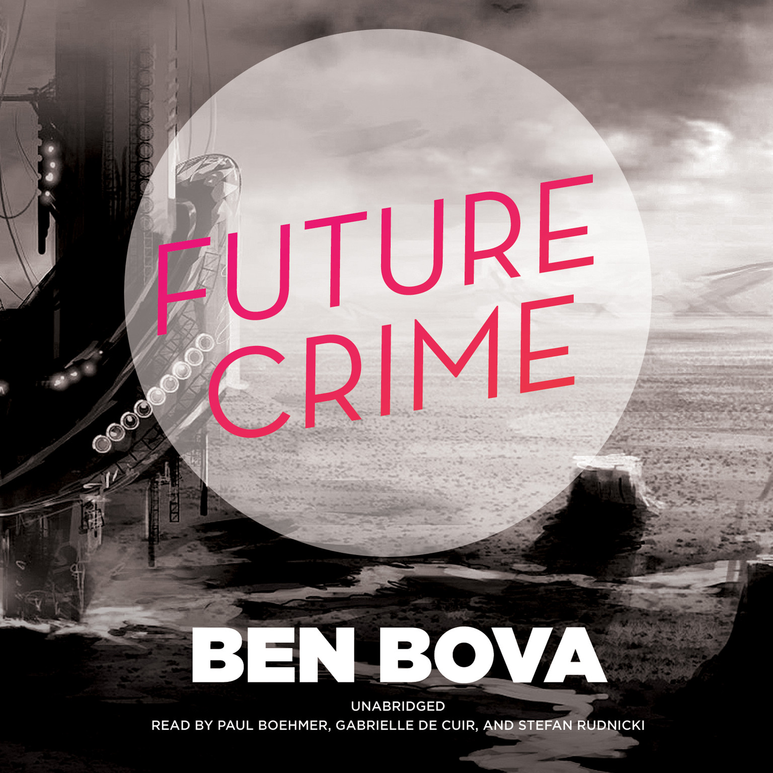 Printable Future Crime Audiobook Cover Art