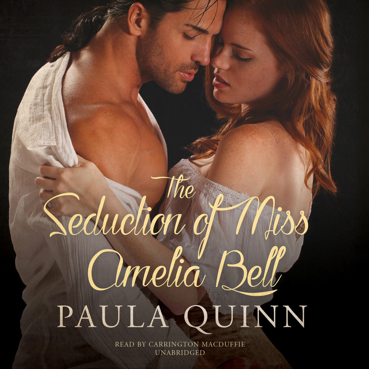 Printable The Seduction of Miss Amelia Bell Audiobook Cover Art