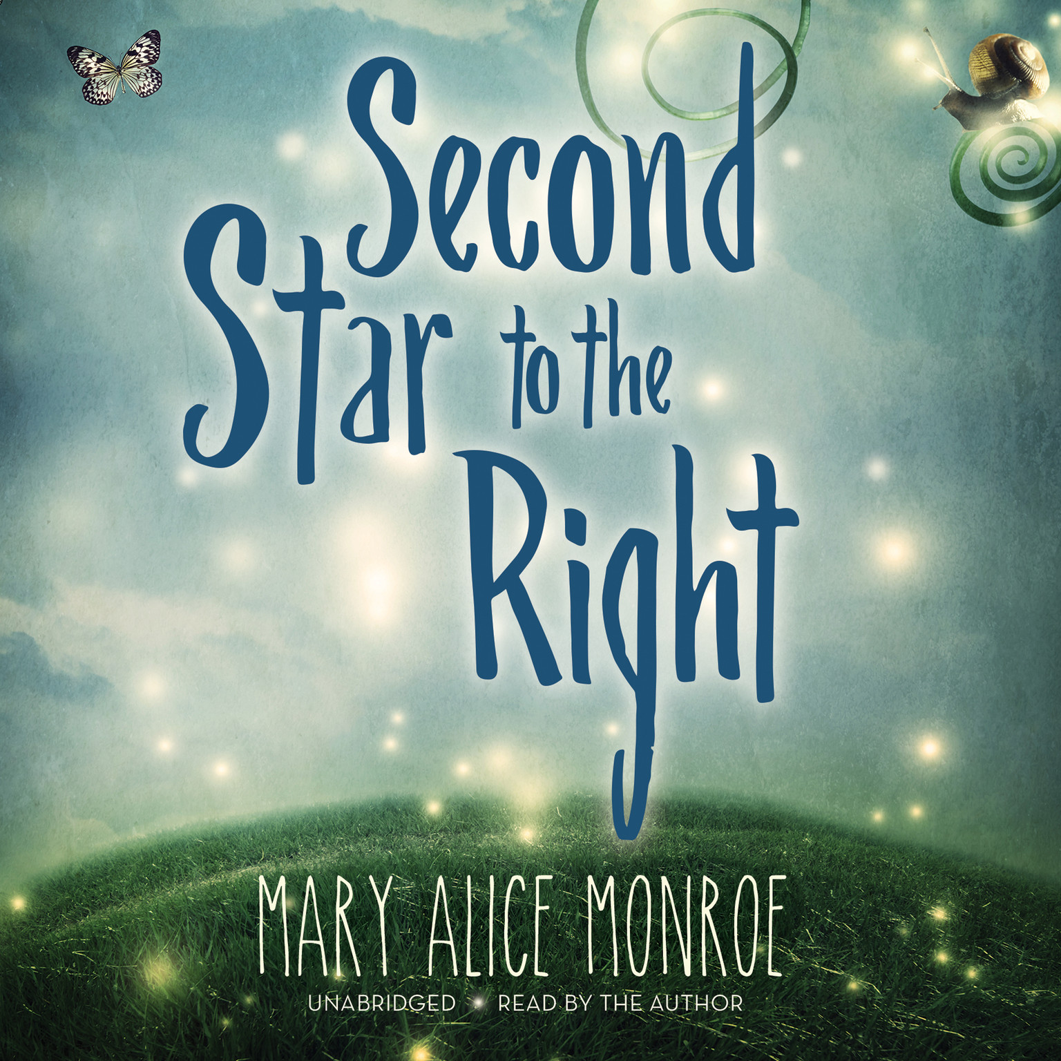 Printable Second Star to the Right Audiobook Cover Art