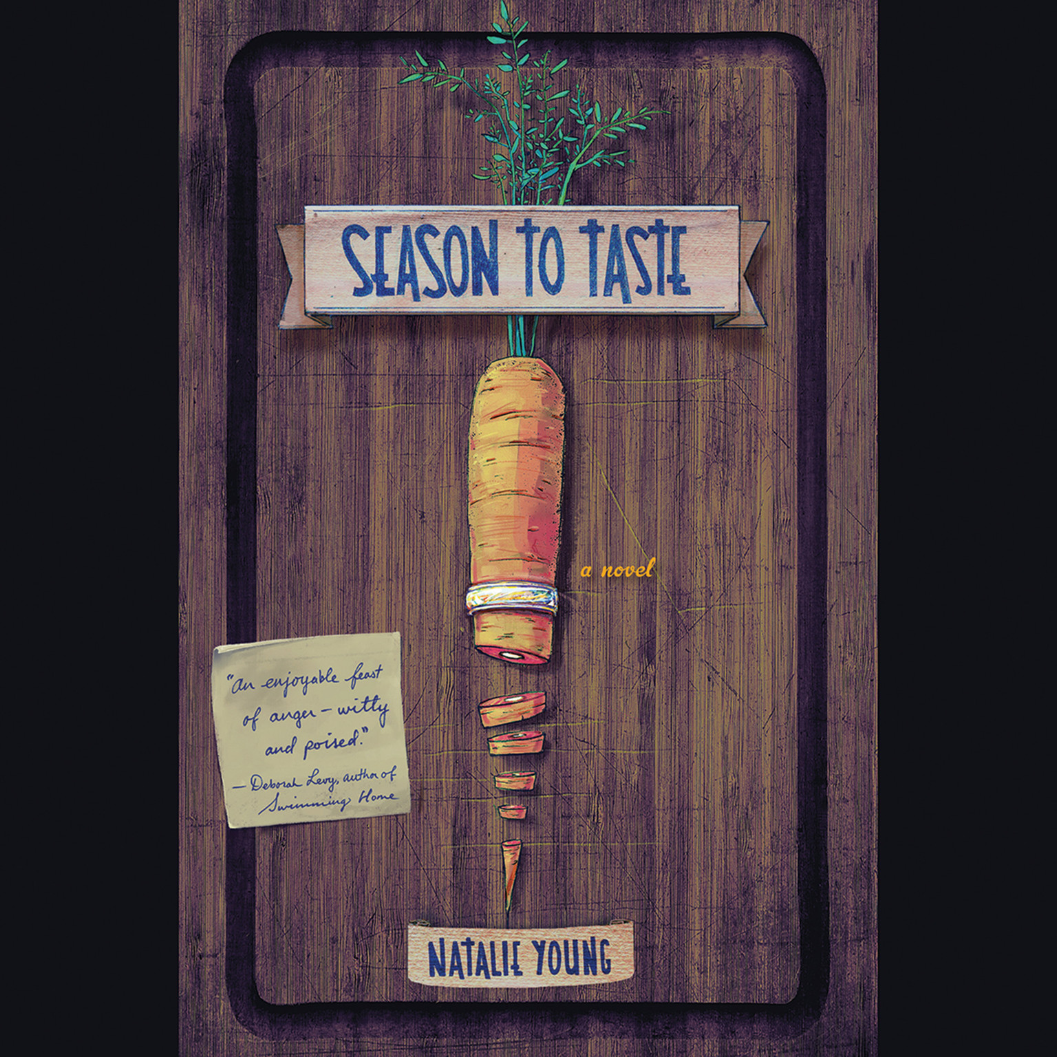 Printable Season to Taste: A Novel Audiobook Cover Art