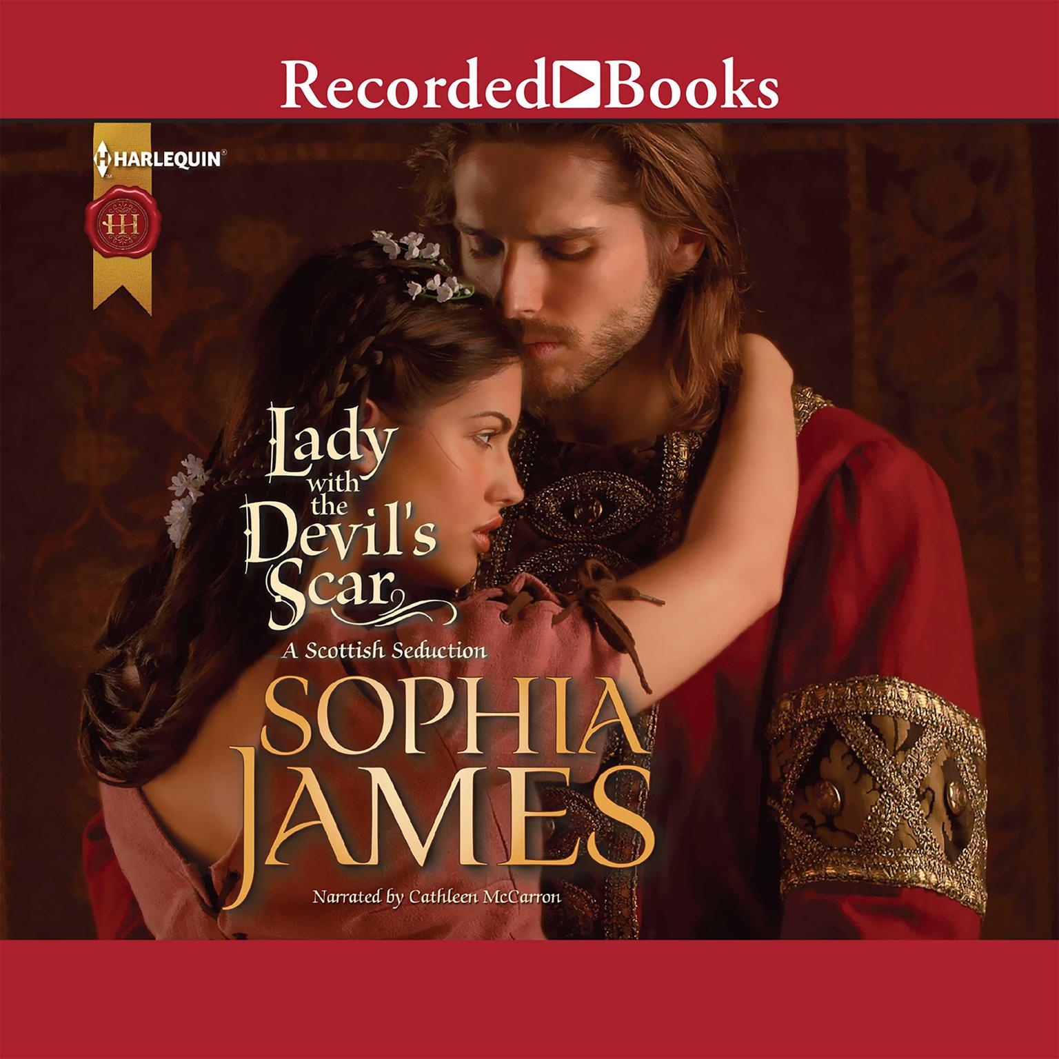 Printable Lady with the Devil's Scar Audiobook Cover Art