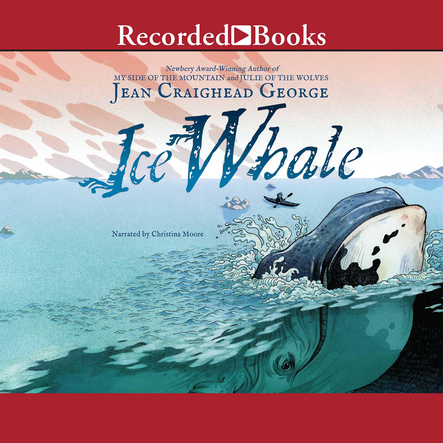 Printable Ice Whale Audiobook Cover Art