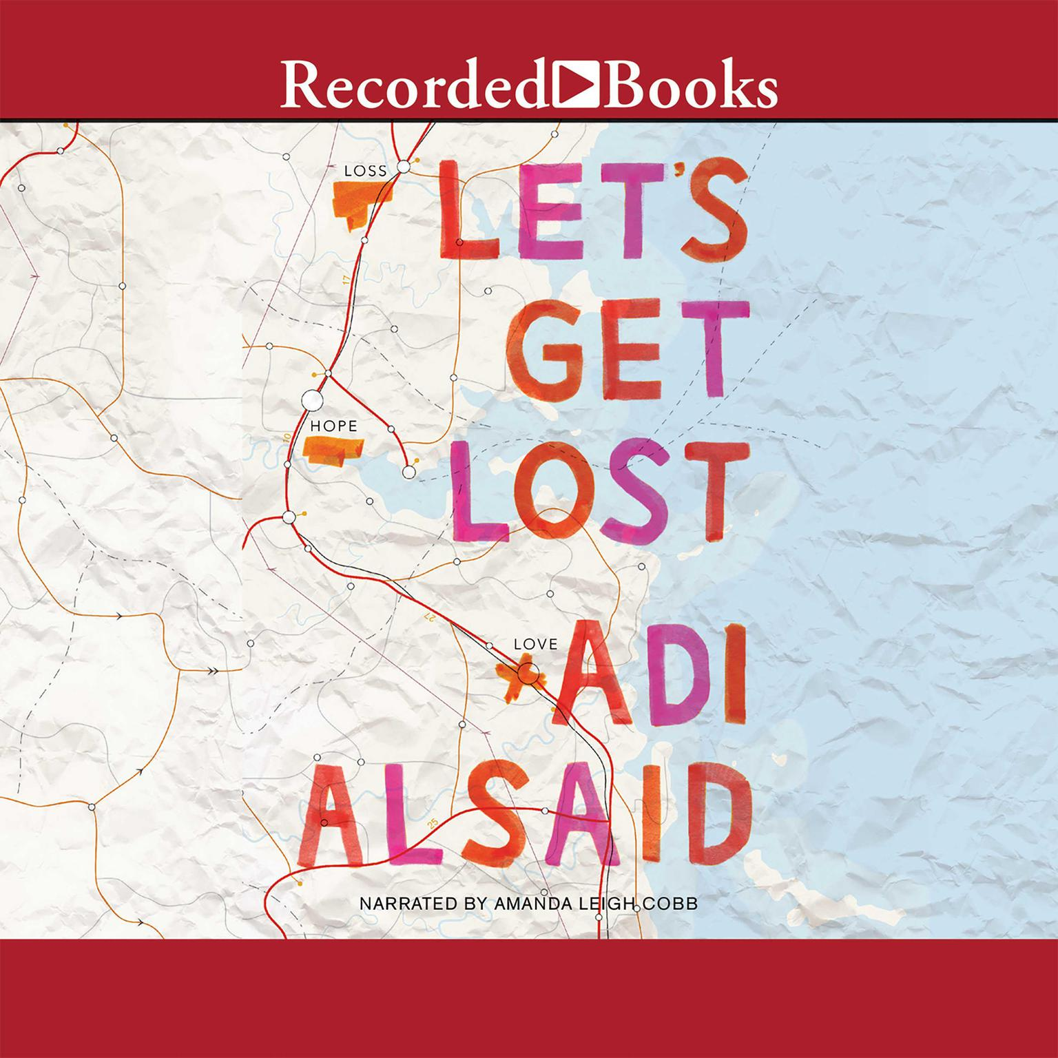 Printable Let's Get Lost Audiobook Cover Art