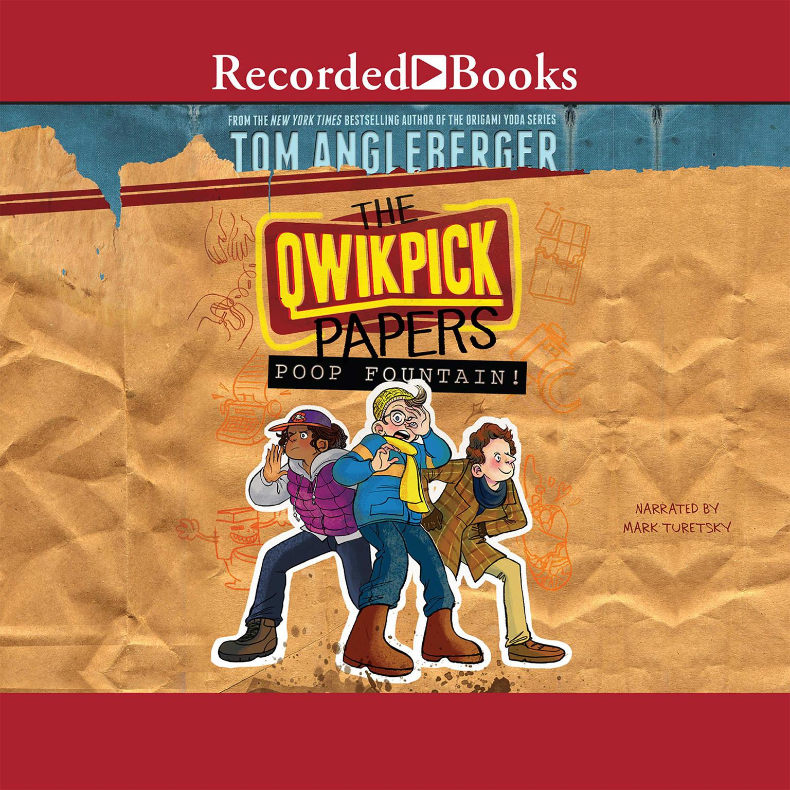 Printable The Qwikpick Papers: Poop Fountain! Audiobook Cover Art