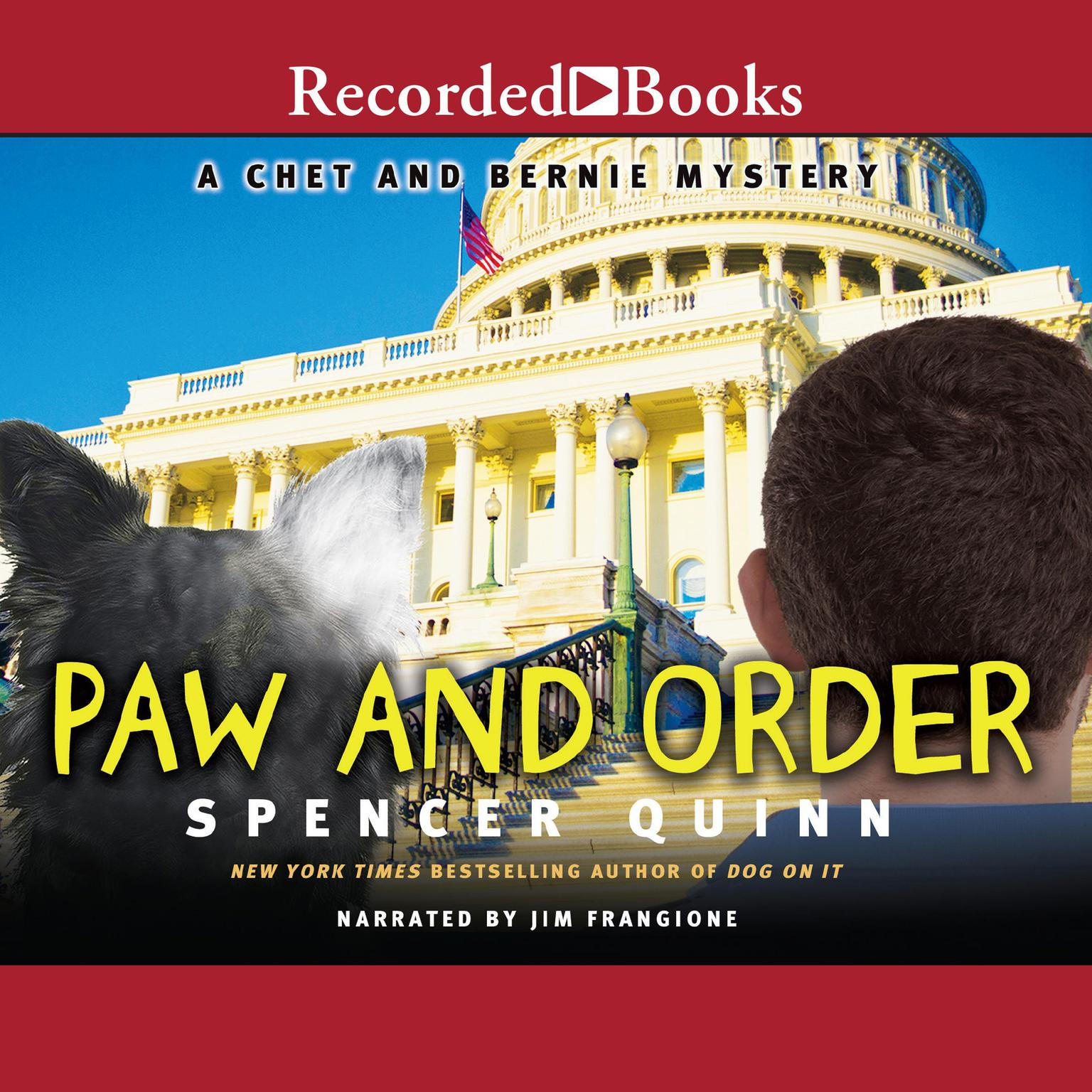 Printable Paw and Order: A Chet and Bernie Mystery Audiobook Cover Art