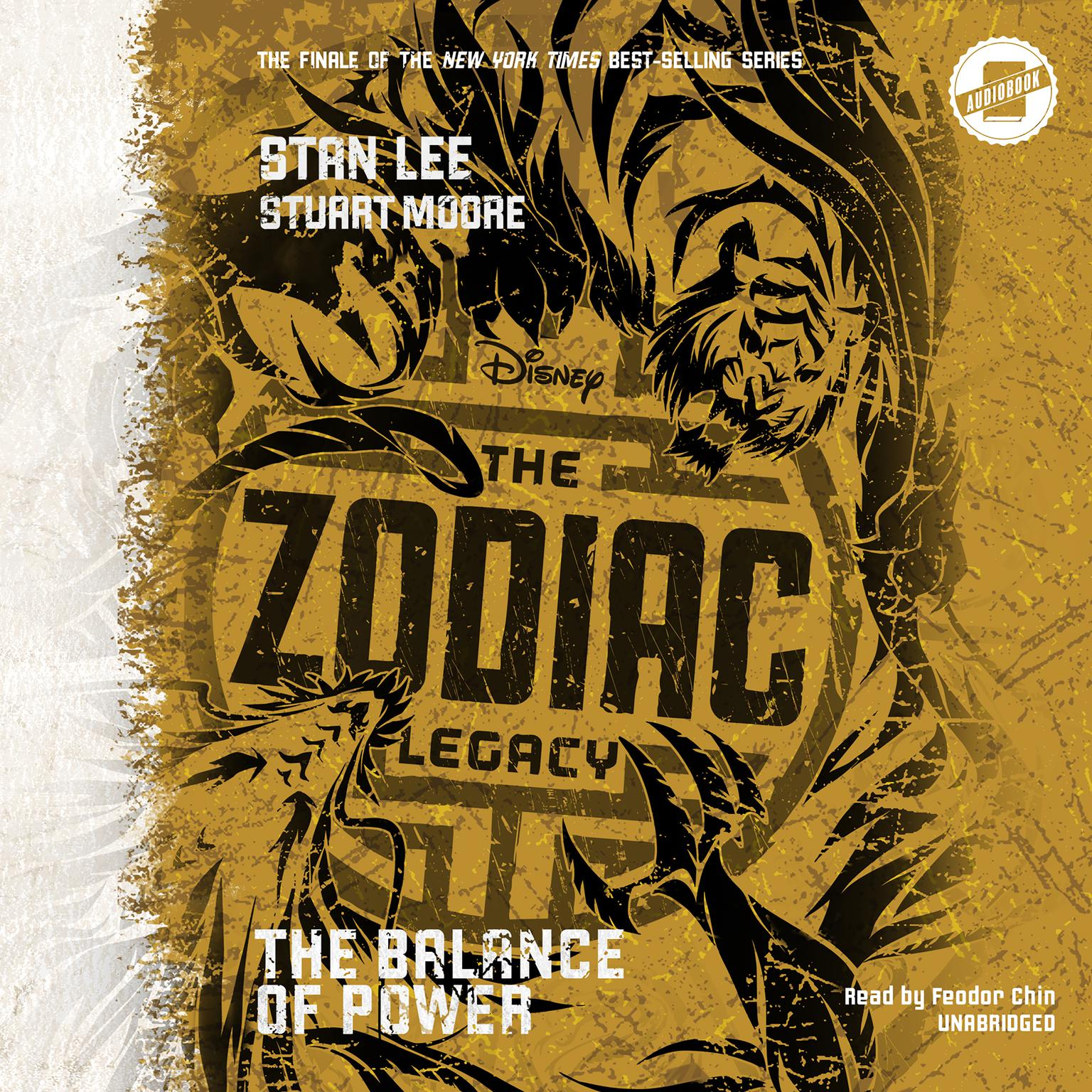 Printable The Zodiac Legacy: Balance of Power Audiobook Cover Art
