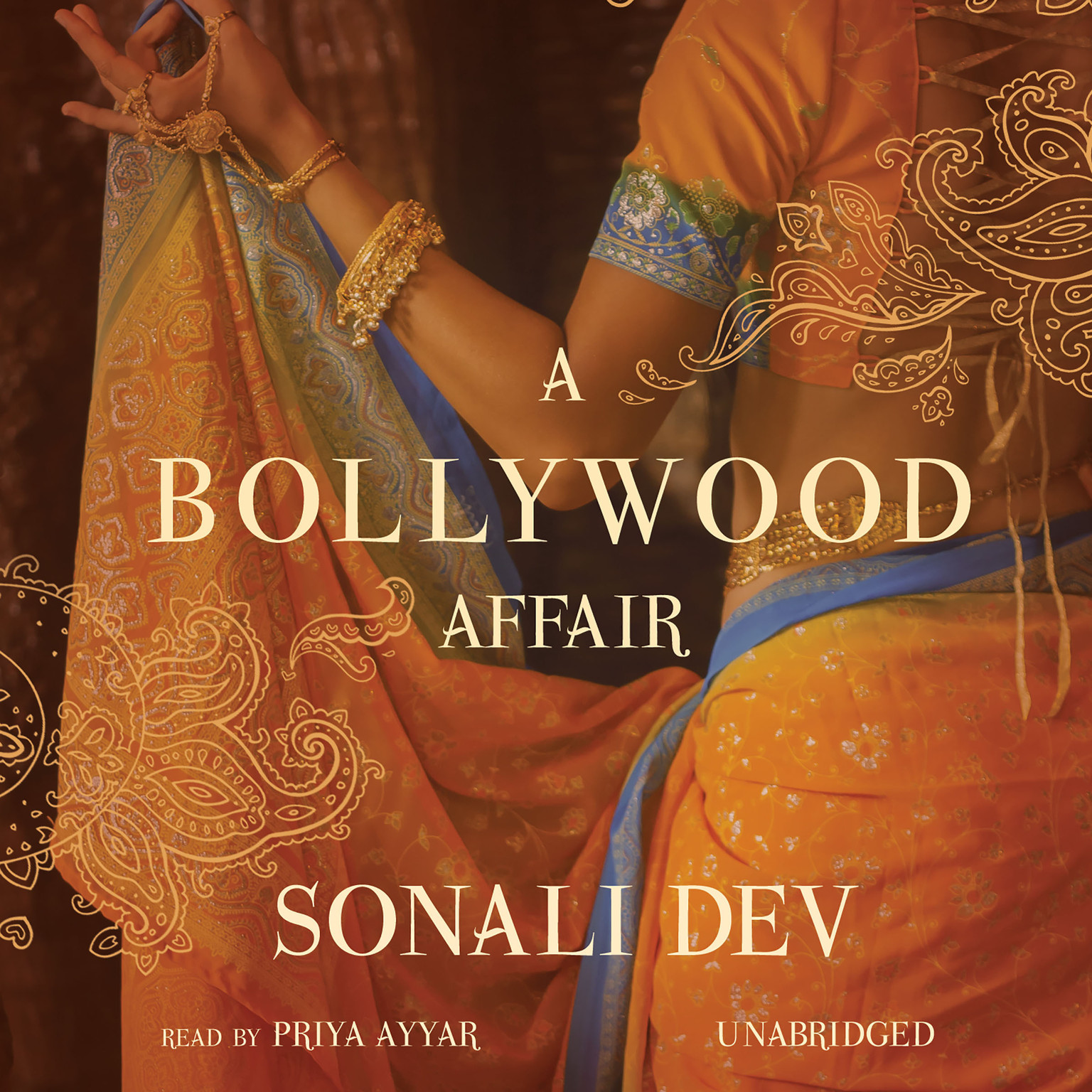 Printable A Bollywood Affair Audiobook Cover Art