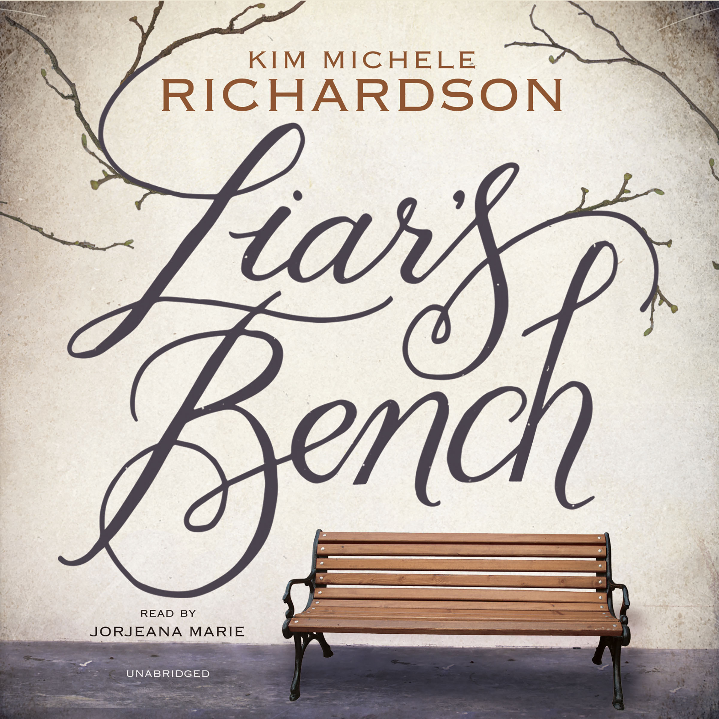 Printable Liar's Bench Audiobook Cover Art