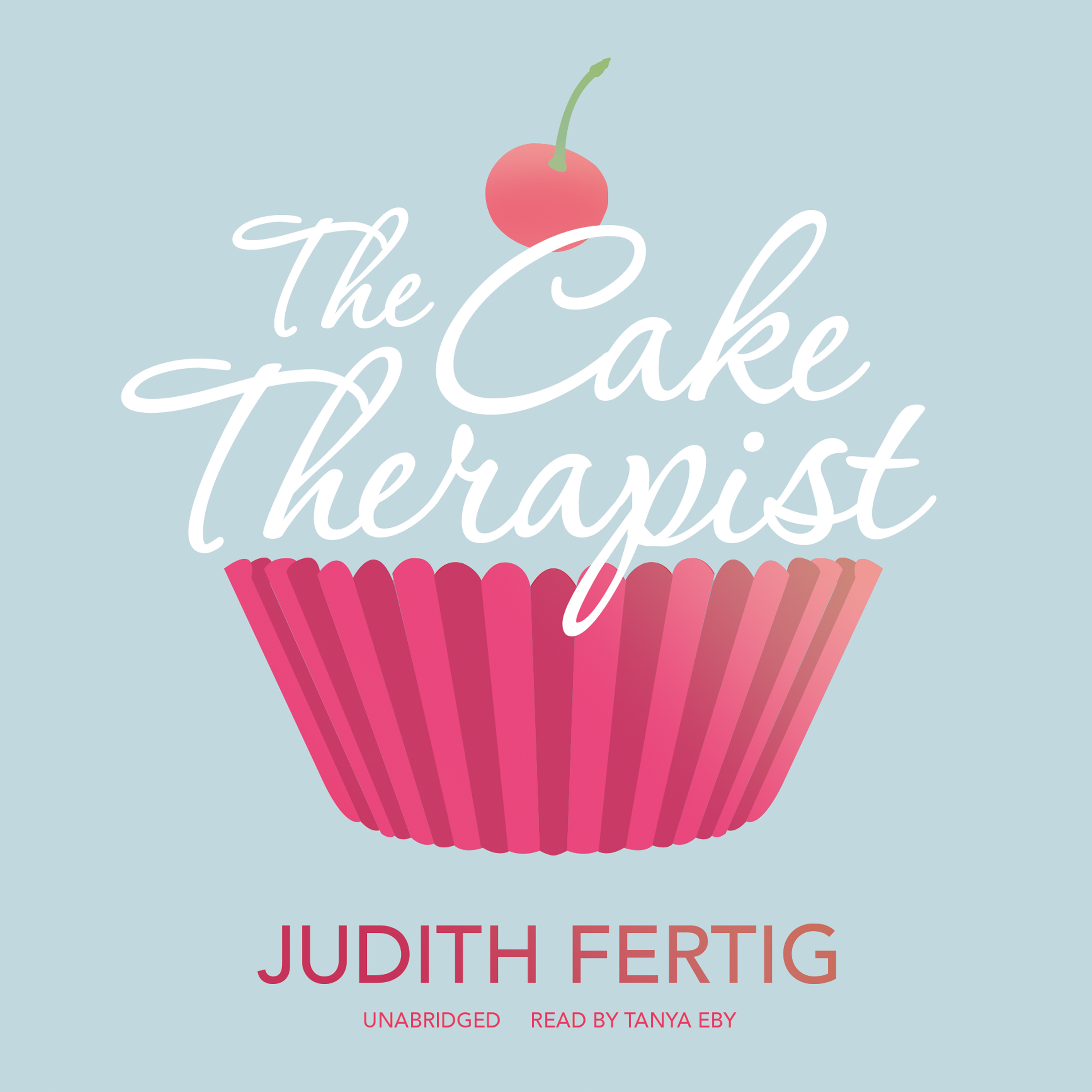 Printable The Cake Therapist Audiobook Cover Art
