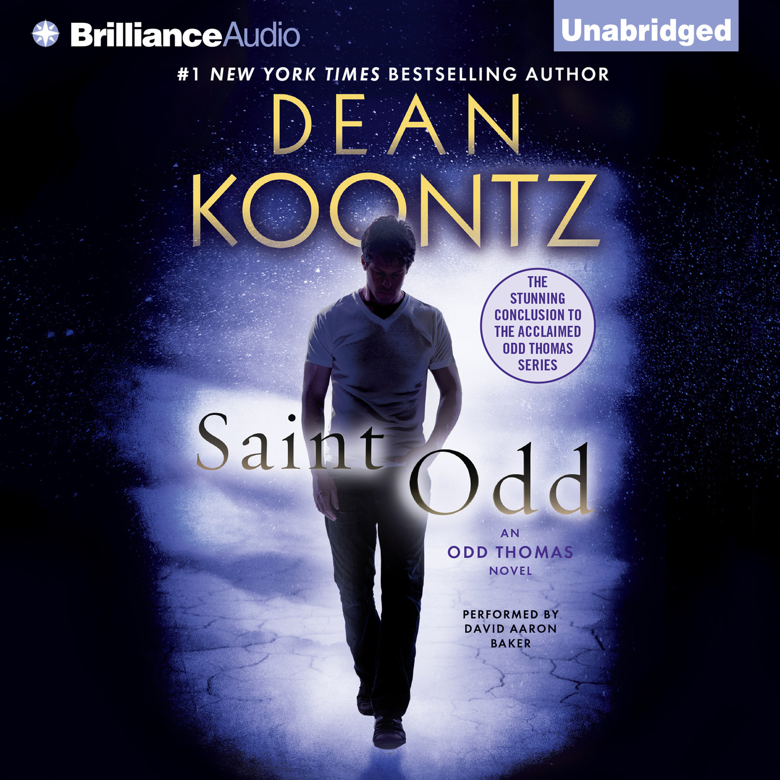 Printable Saint Odd: An Odd Thomas Novel Audiobook Cover Art