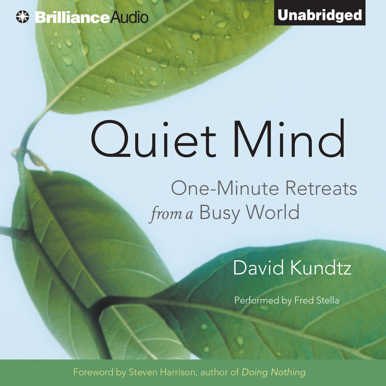 Printable Quiet Mind: One-Minute Retreats from a Busy World Audiobook Cover Art
