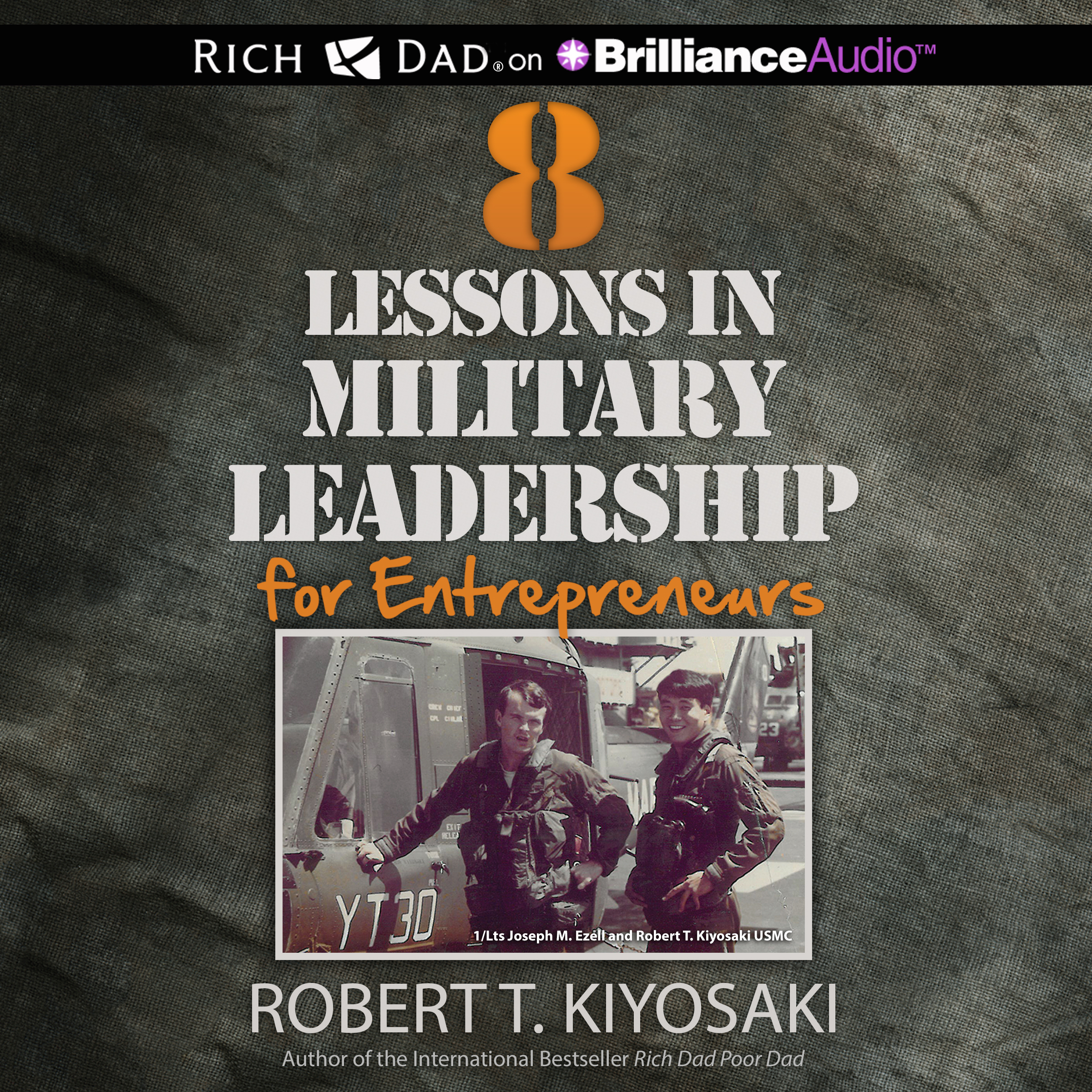 Printable 8 Lessons in Military Leadership for Entrepreneurs Audiobook Cover Art