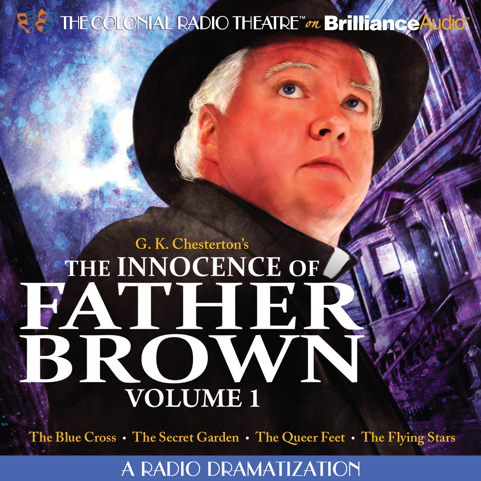 Printable The Innocence of Father Brown, Vol. 1: A Radio Dramatization Audiobook Cover Art