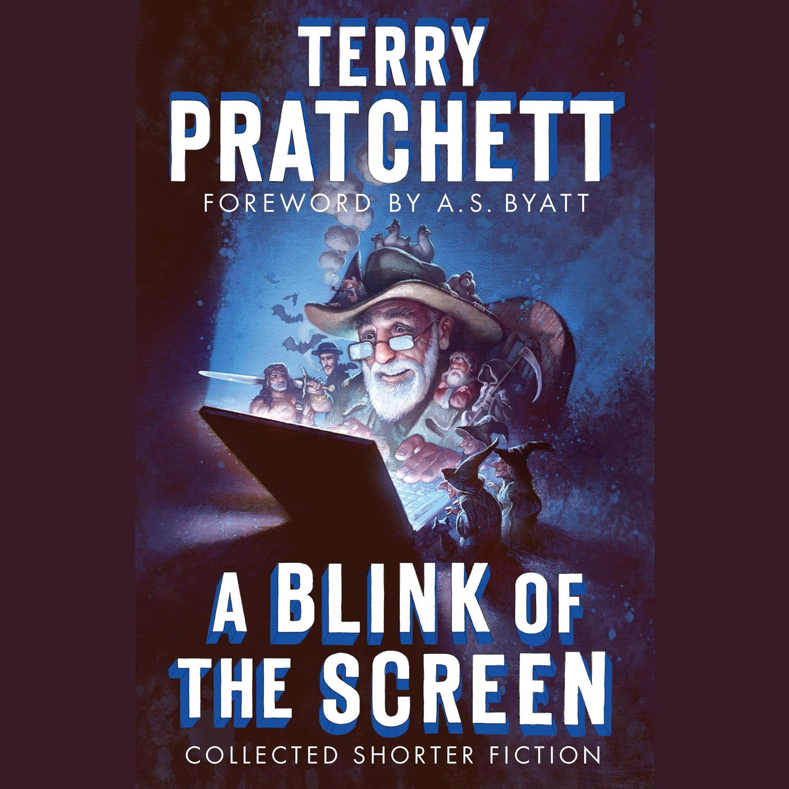 Printable A Blink of the Screen: Collected Shorter Fiction Audiobook Cover Art
