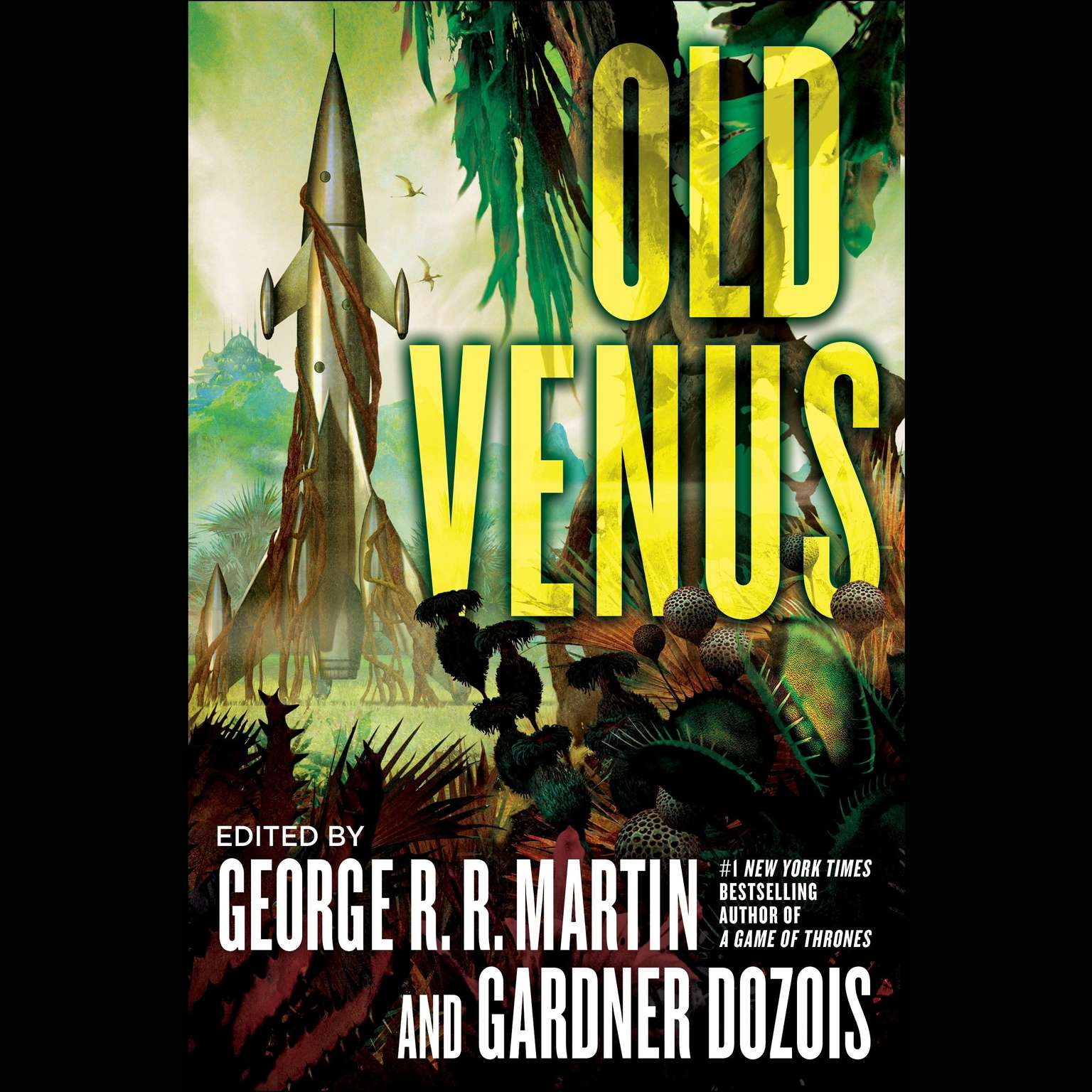 Printable Old Venus Audiobook Cover Art