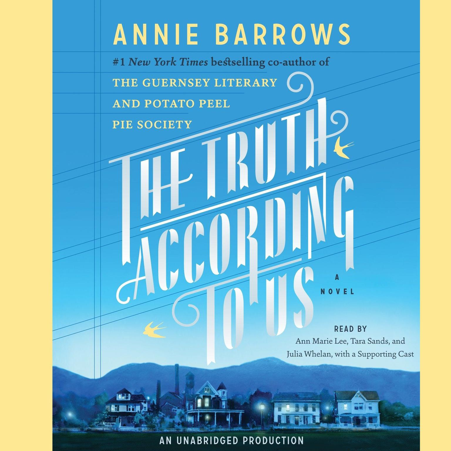 Printable The Truth according to Us: A Novel Audiobook Cover Art