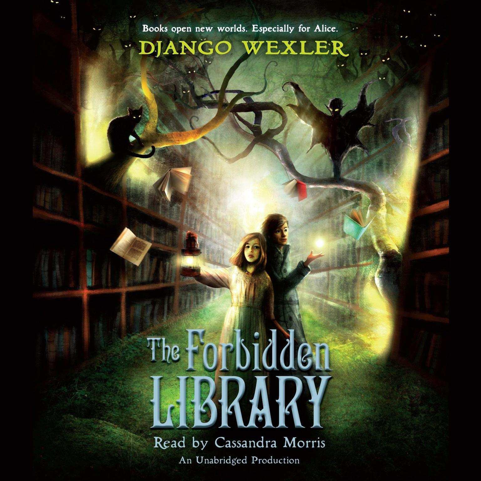 Printable The Forbidden Library Audiobook Cover Art