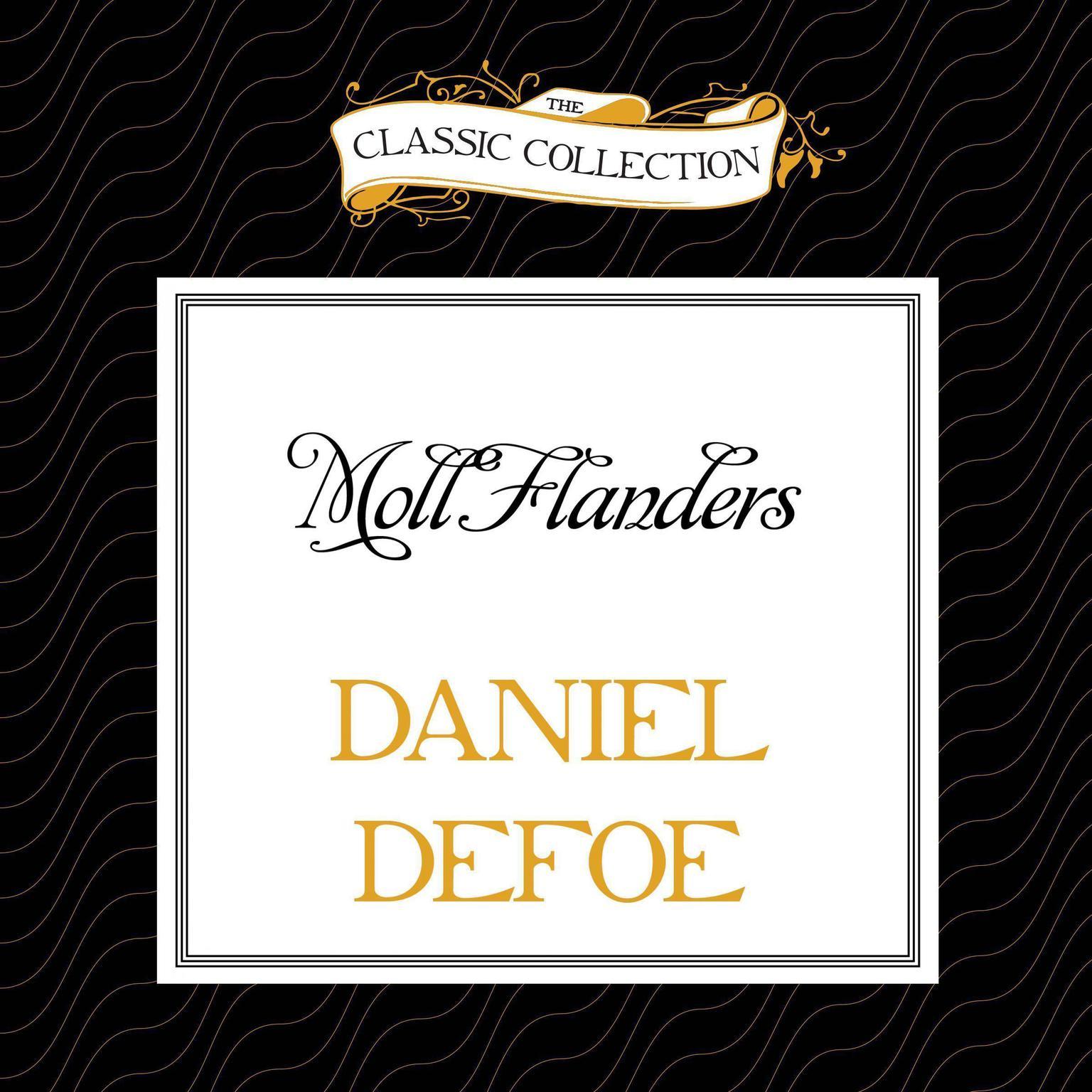 Printable Moll Flanders Audiobook Cover Art