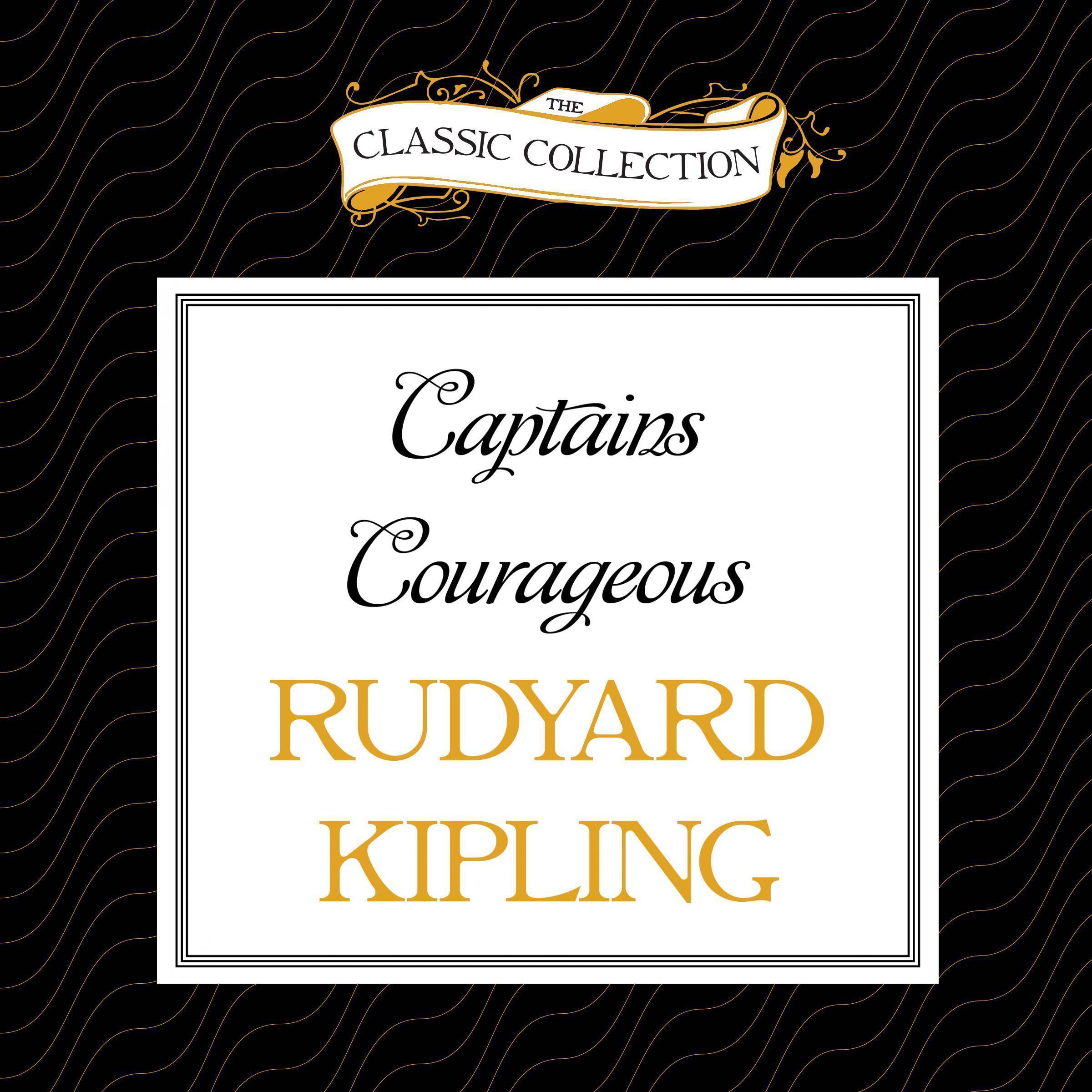 Printable Captains Courageous Audiobook Cover Art