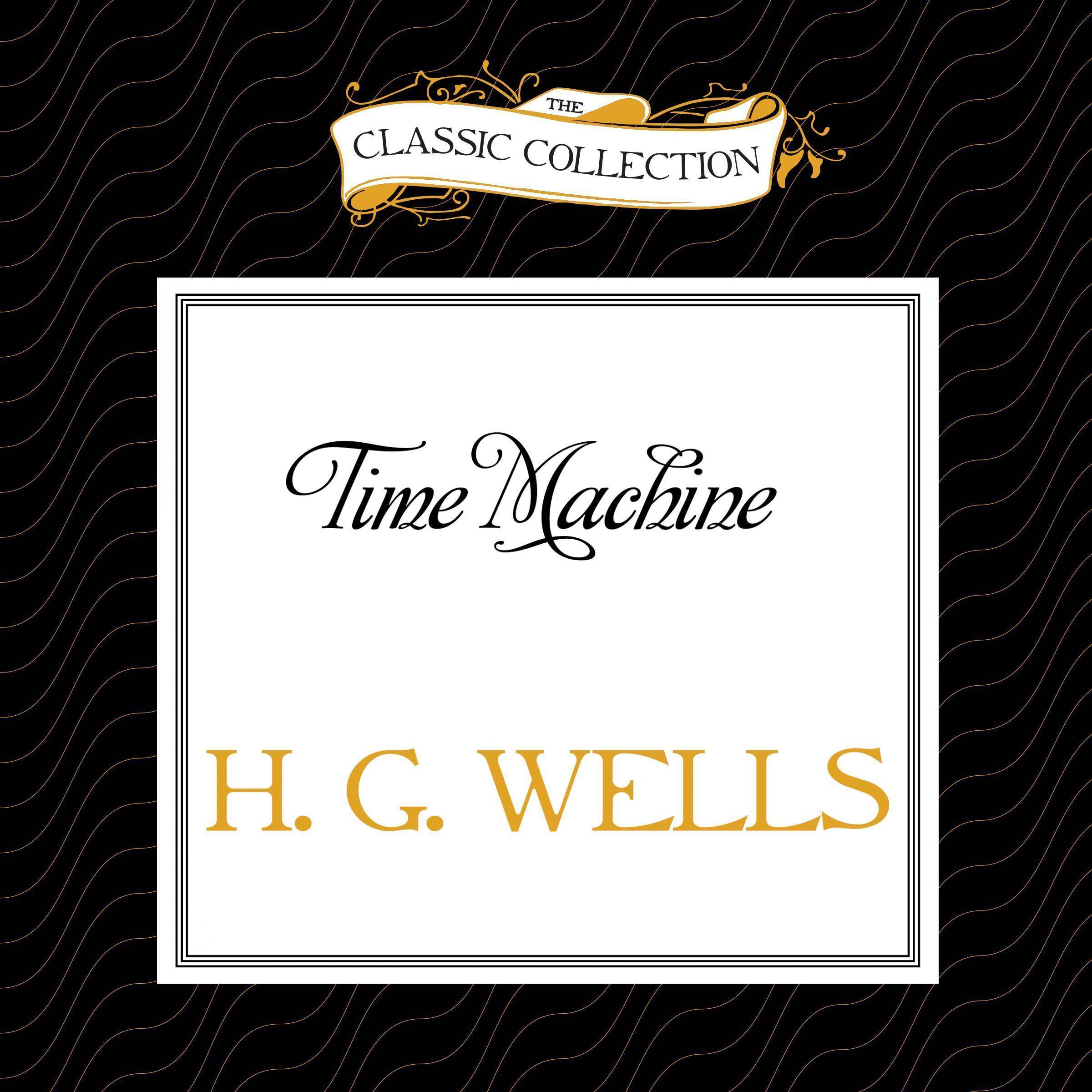 Printable Time Machine Audiobook Cover Art