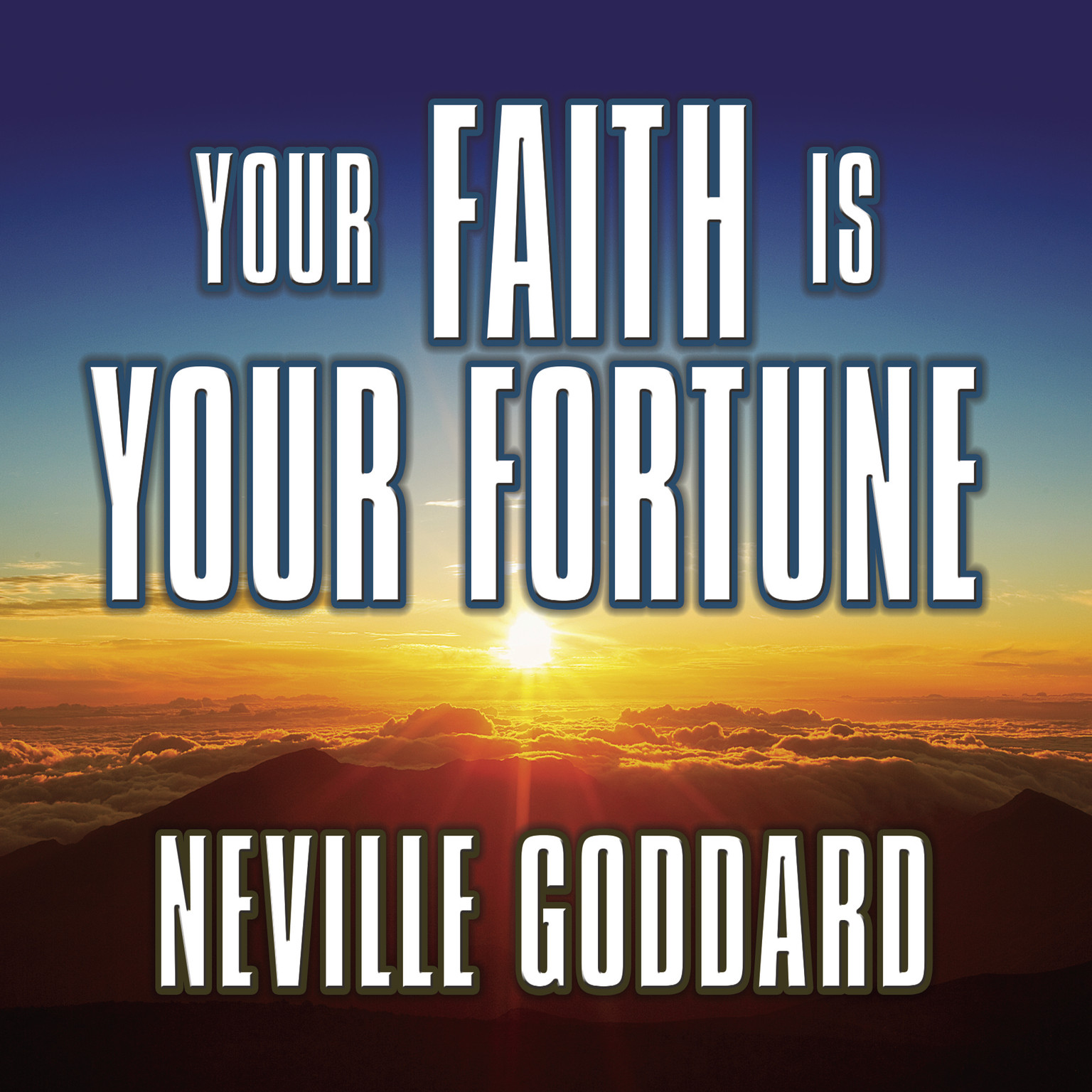 Printable Your Faith is Your Fortune Audiobook Cover Art