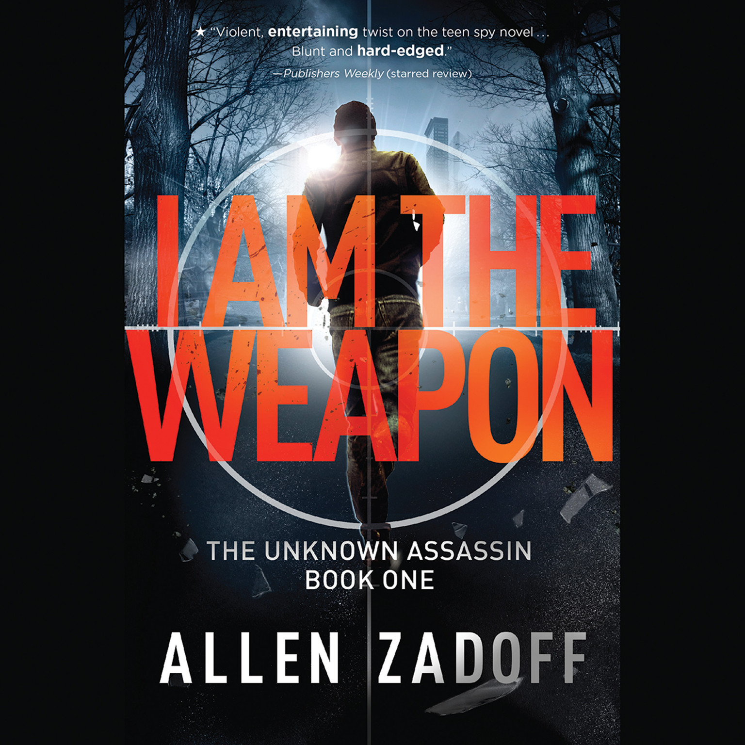 Printable I Am the Weapon Audiobook Cover Art