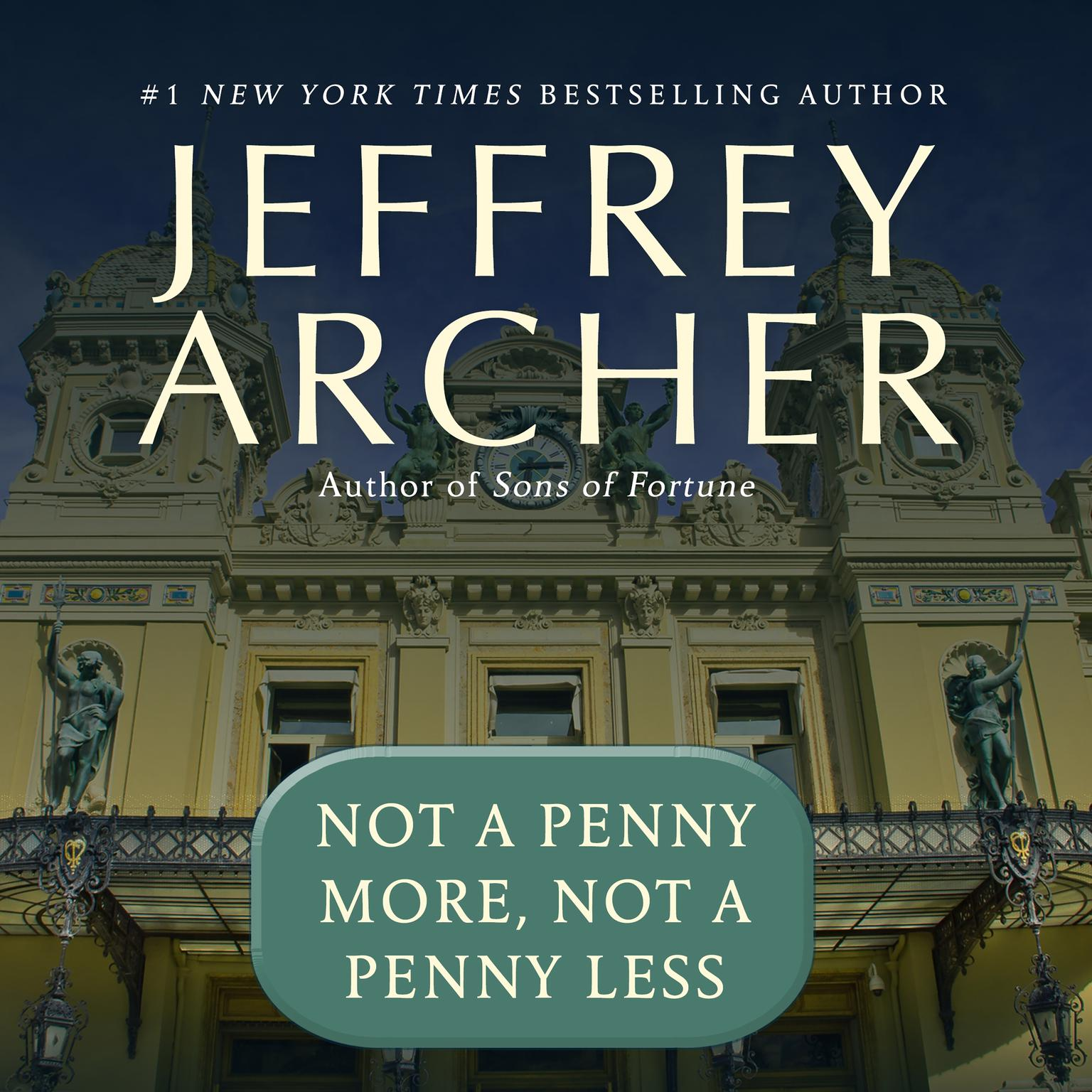 Printable Not a Penny More, Not a Penny Less Audiobook Cover Art