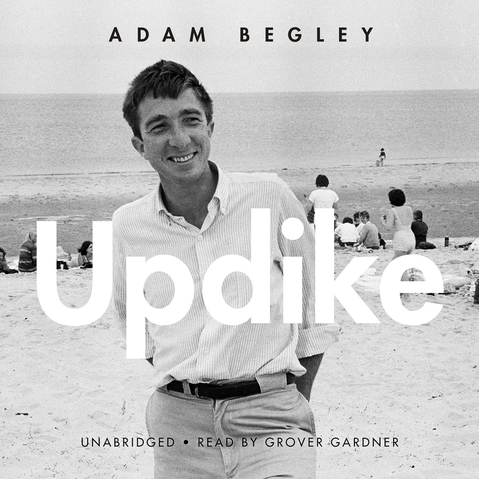 Printable Updike Audiobook Cover Art