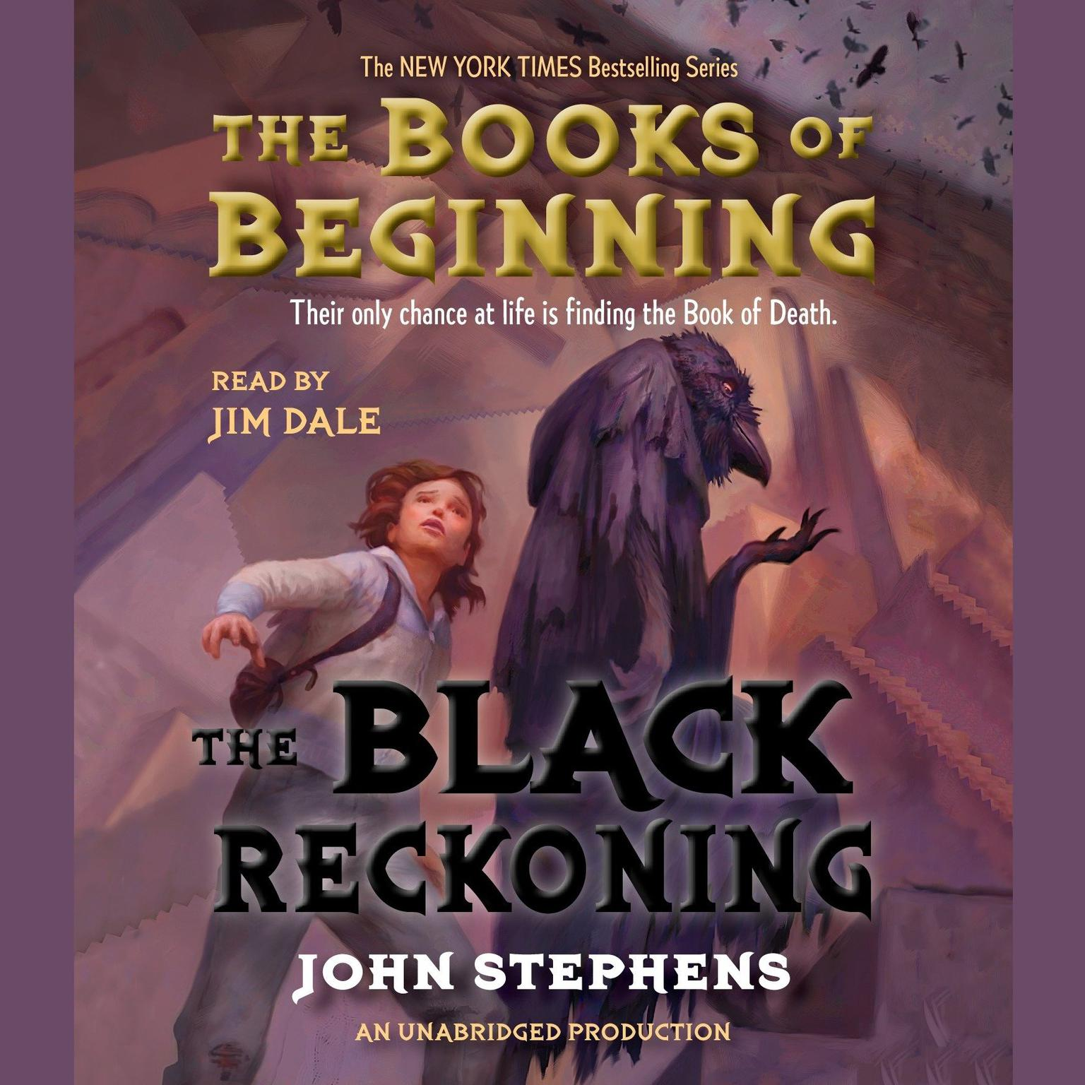 Printable The Black Reckoning Audiobook Cover Art
