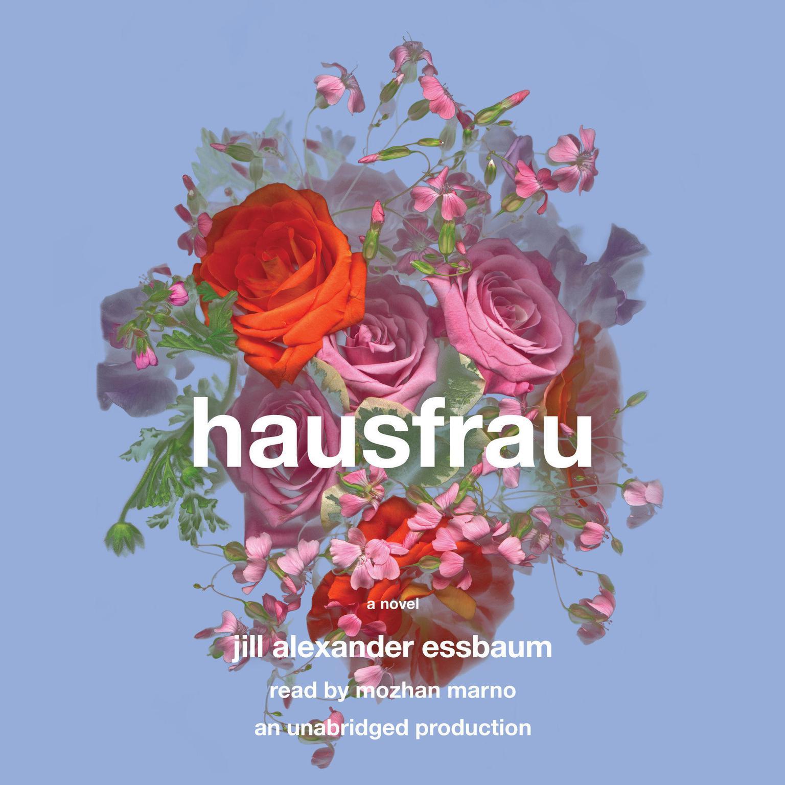 Printable Hausfrau: A Novel Audiobook Cover Art