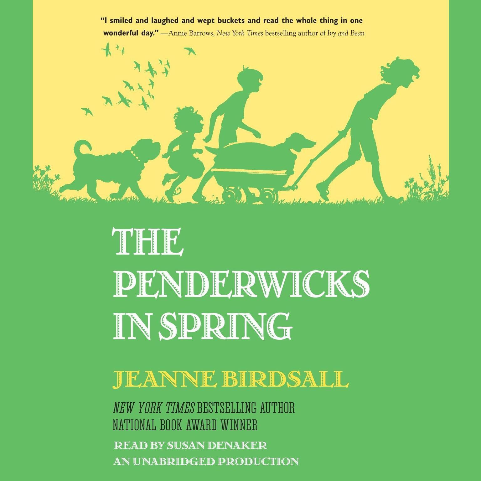 Printable The Penderwicks in Spring Audiobook Cover Art
