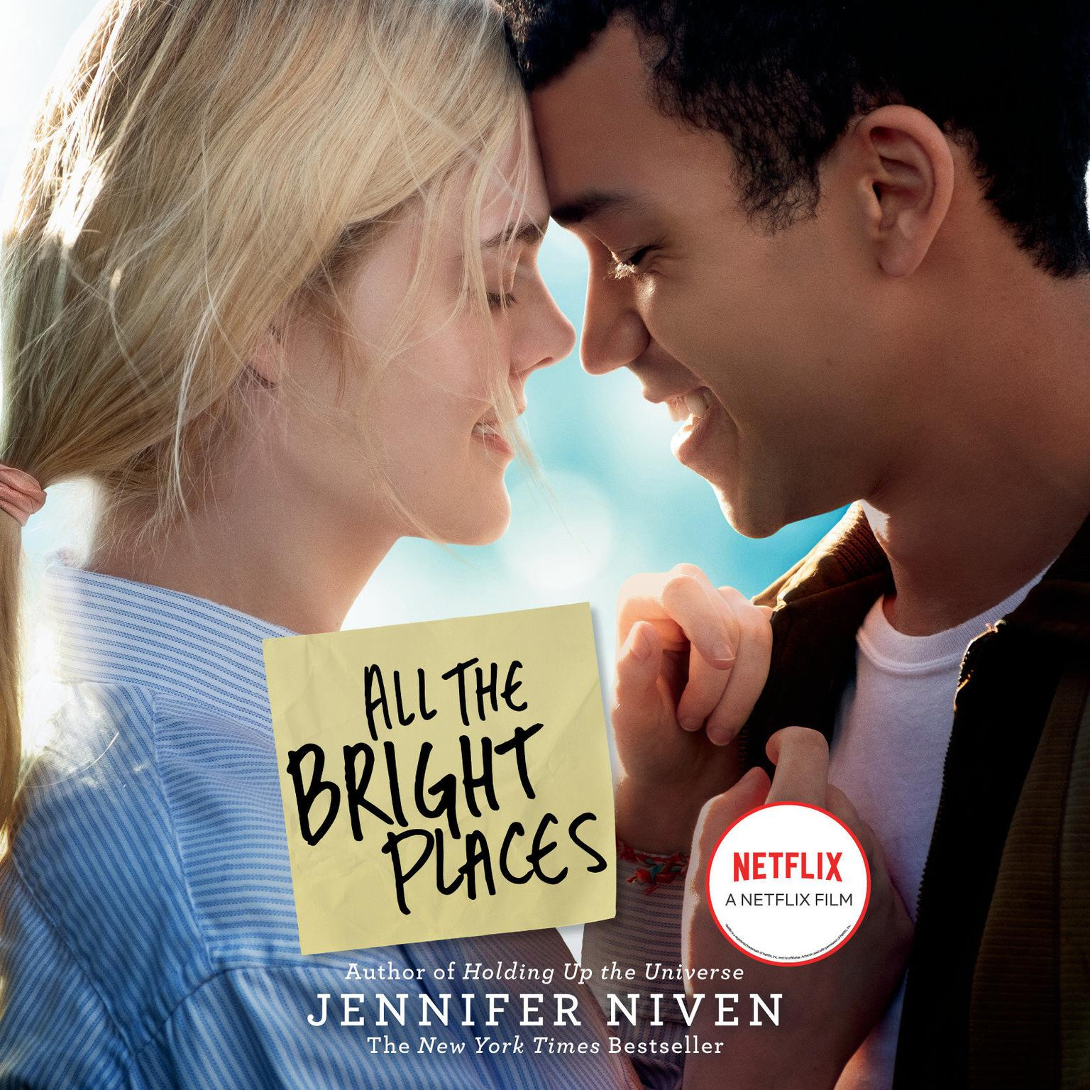 Printable All the Bright Places Audiobook Cover Art