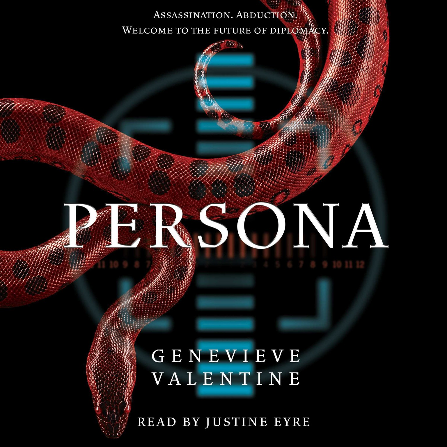Printable Persona Audiobook Cover Art