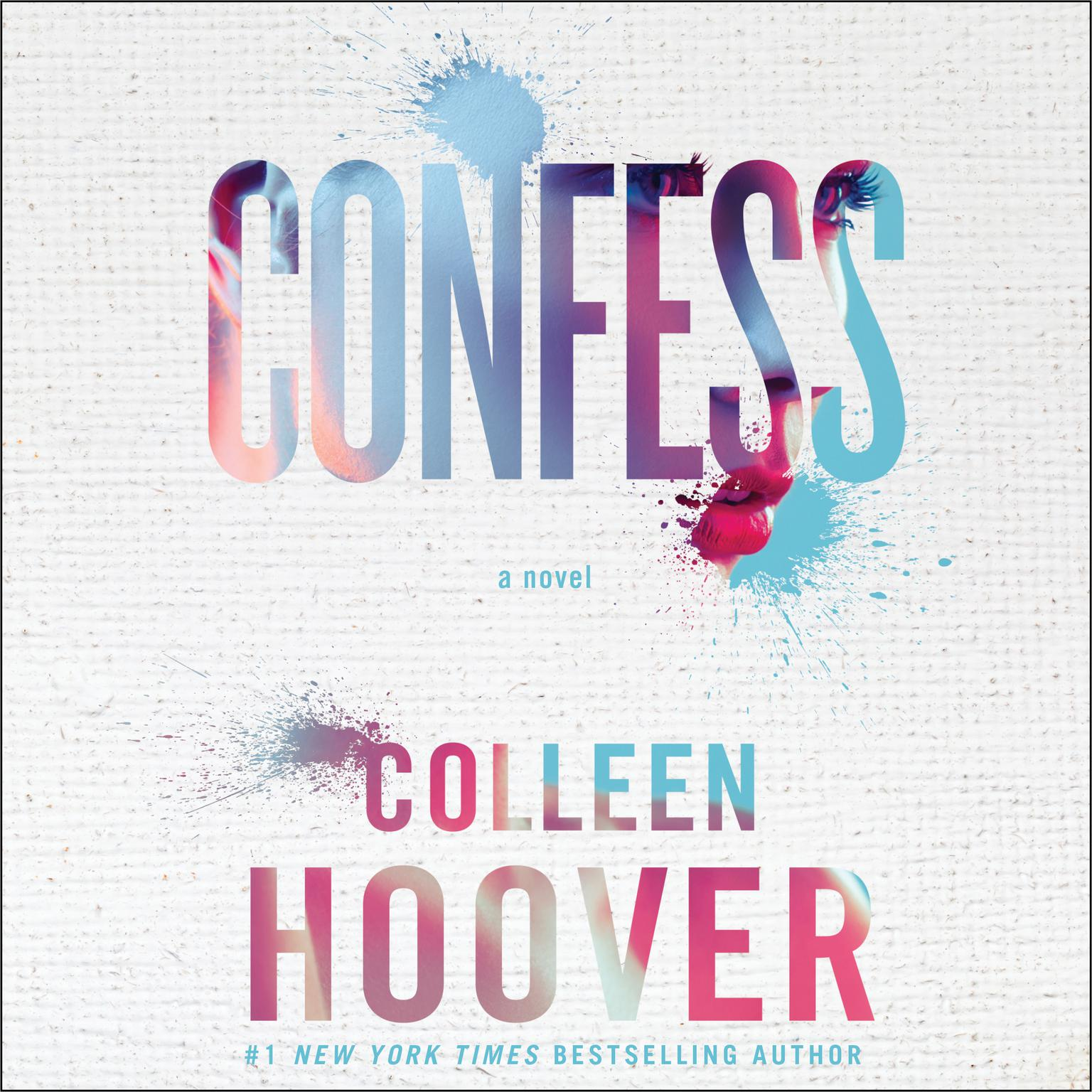 Printable Confess Audiobook Cover Art