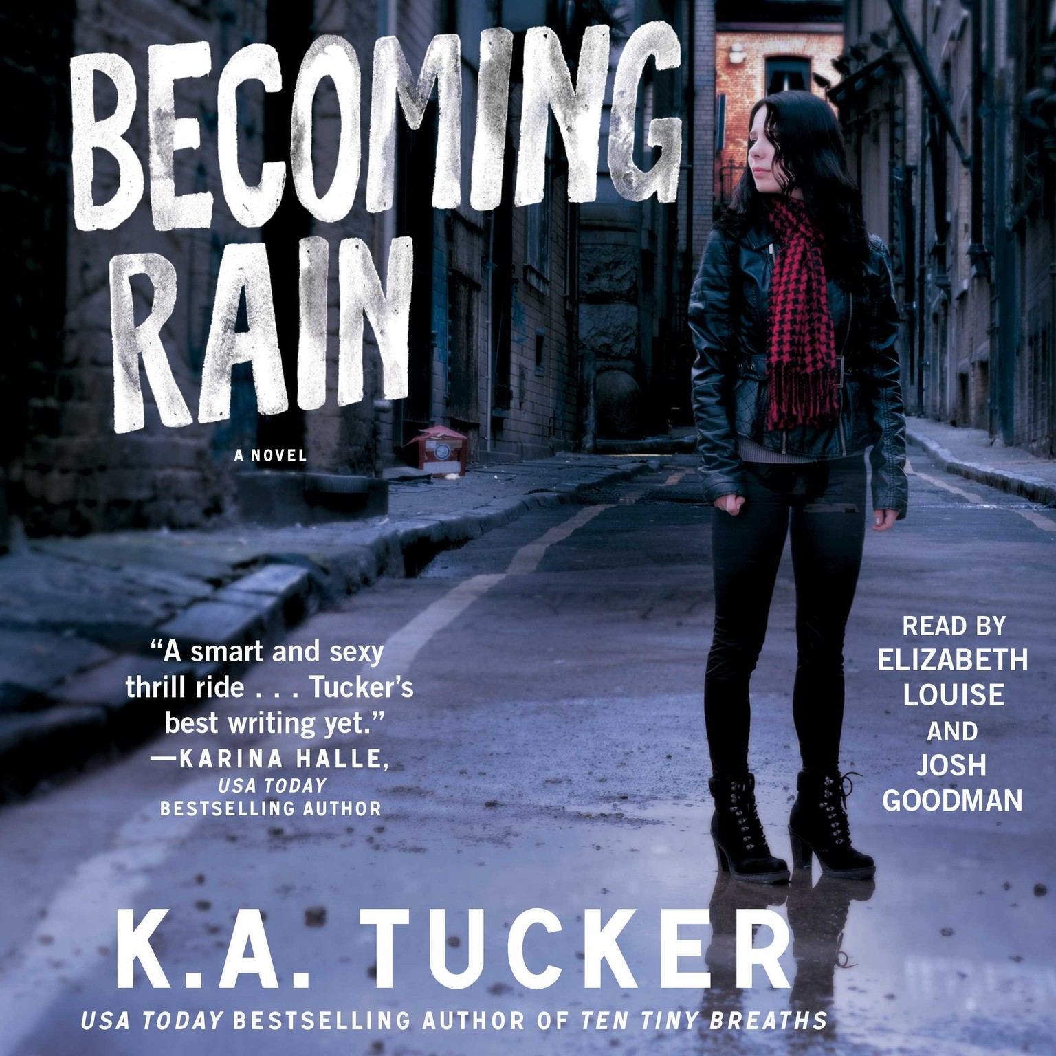 Printable Becoming Rain Audiobook Cover Art