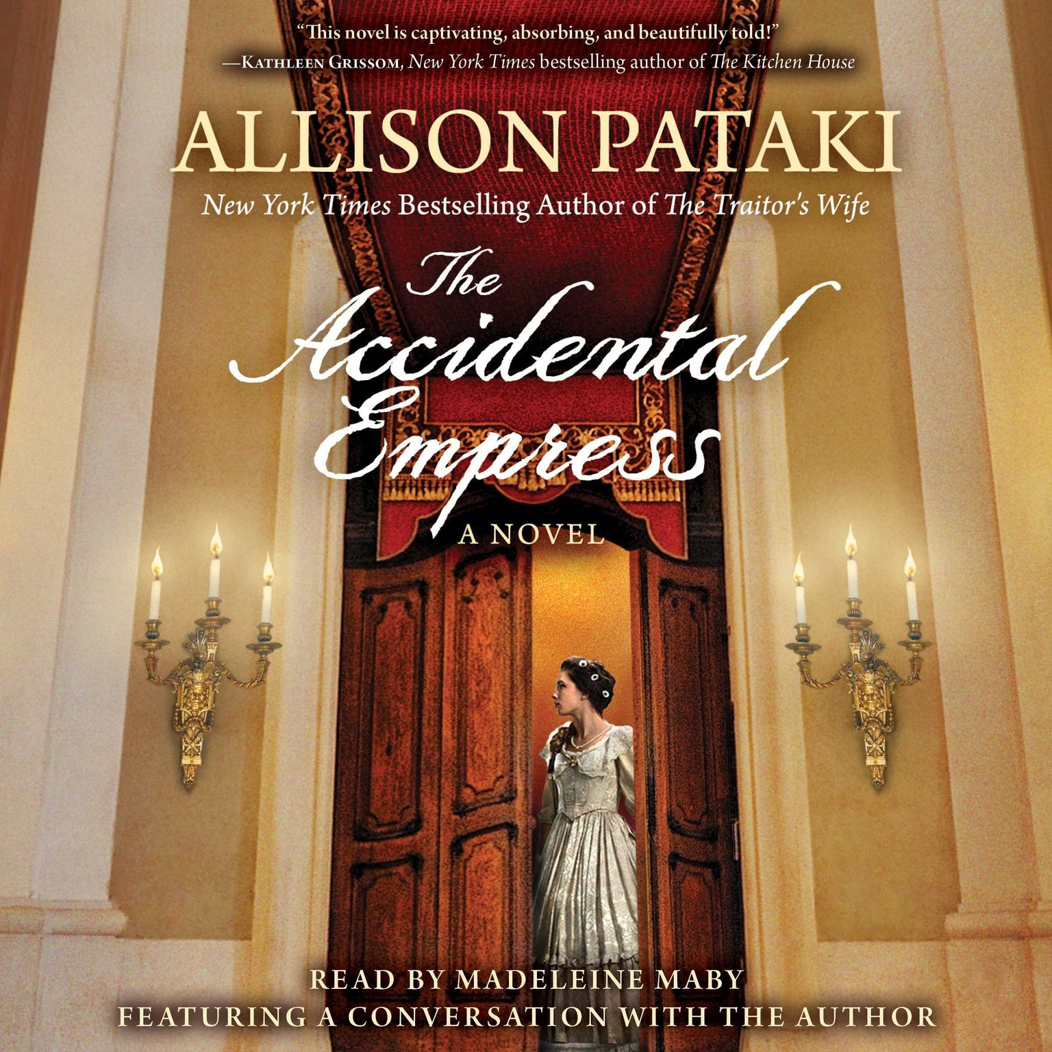 Printable The Accidental Empress Audiobook Cover Art