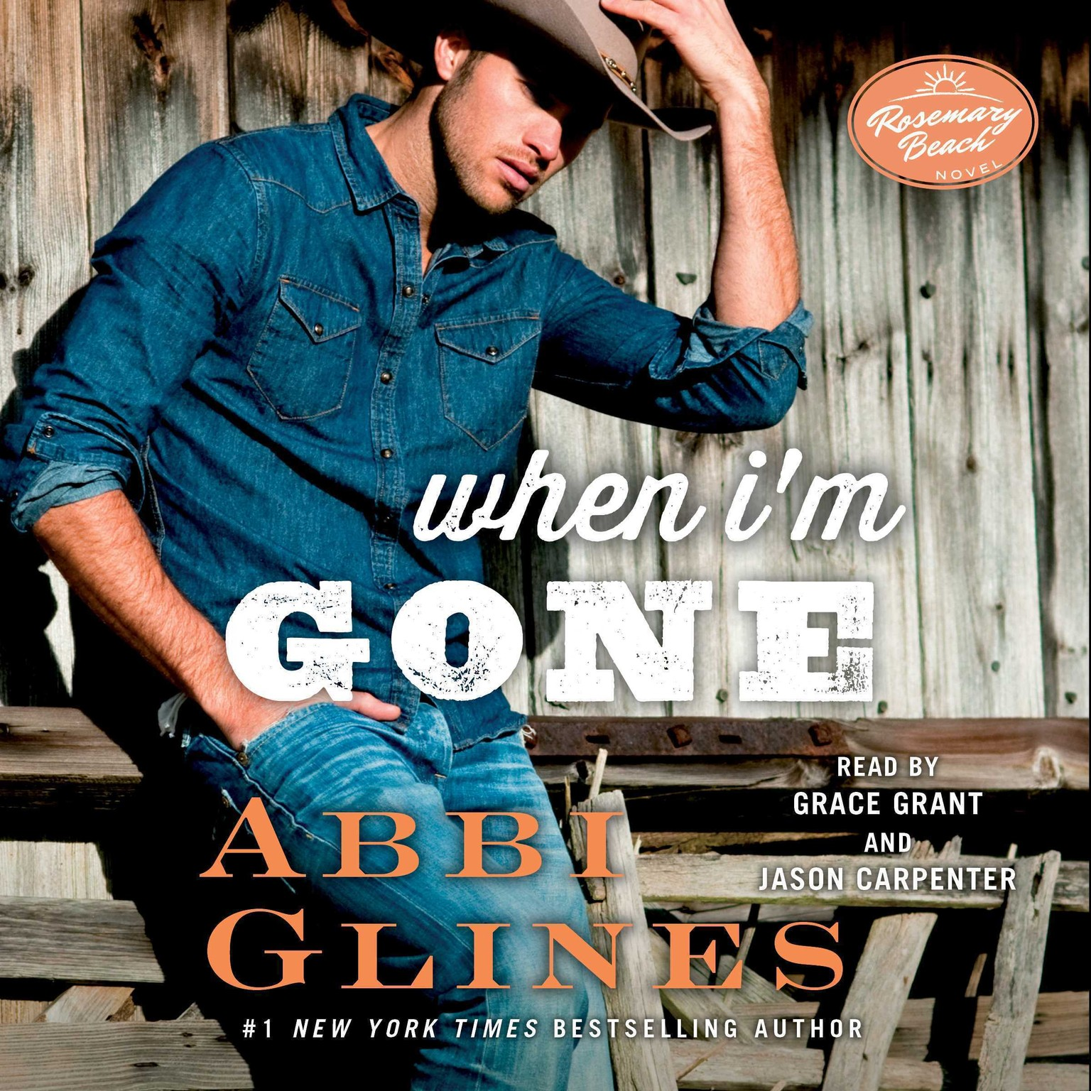 Printable When I'm Gone: A Rosemary Beach Novel Audiobook Cover Art