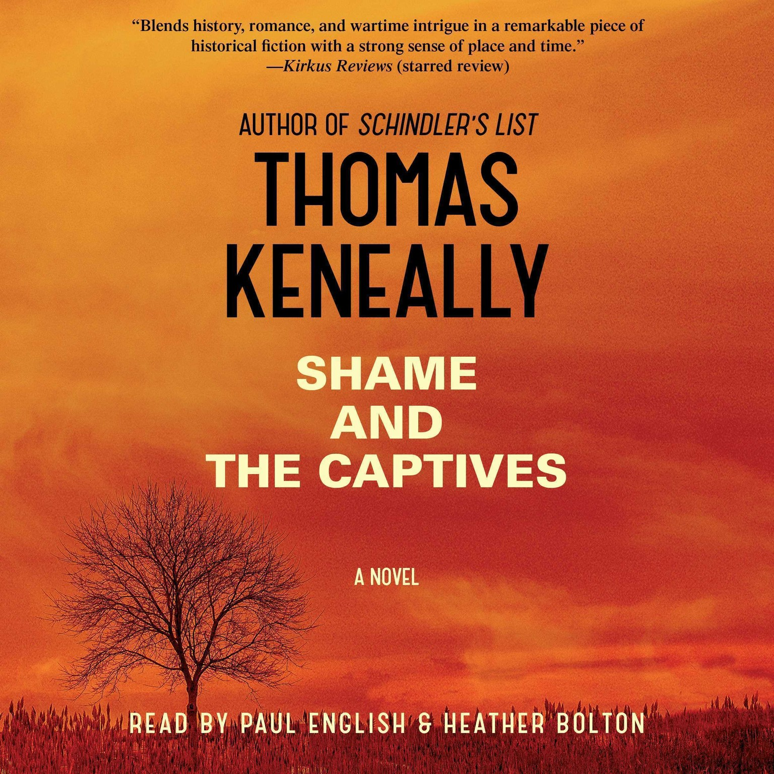 Printable Shame and the Captives: A Novel Audiobook Cover Art