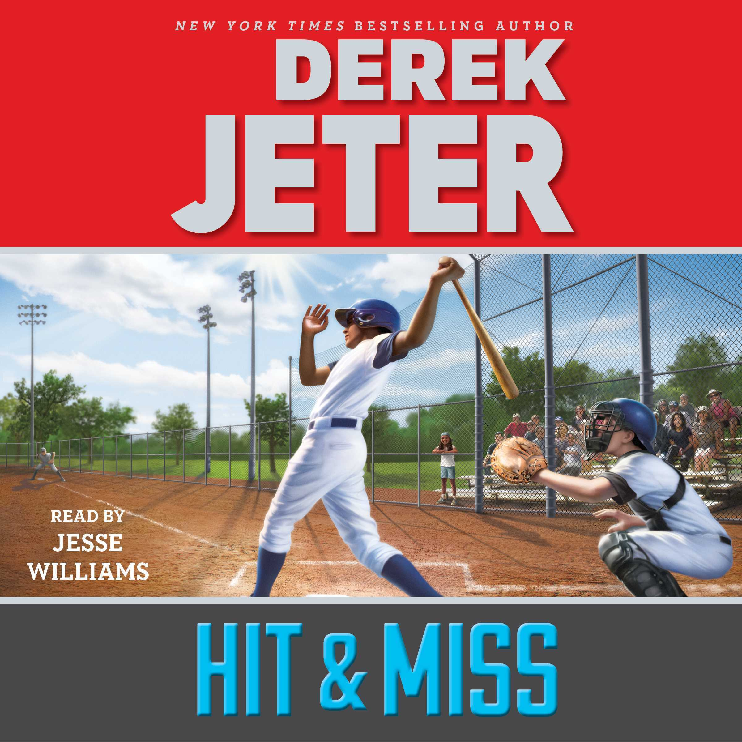 Printable Hit & Miss Audiobook Cover Art
