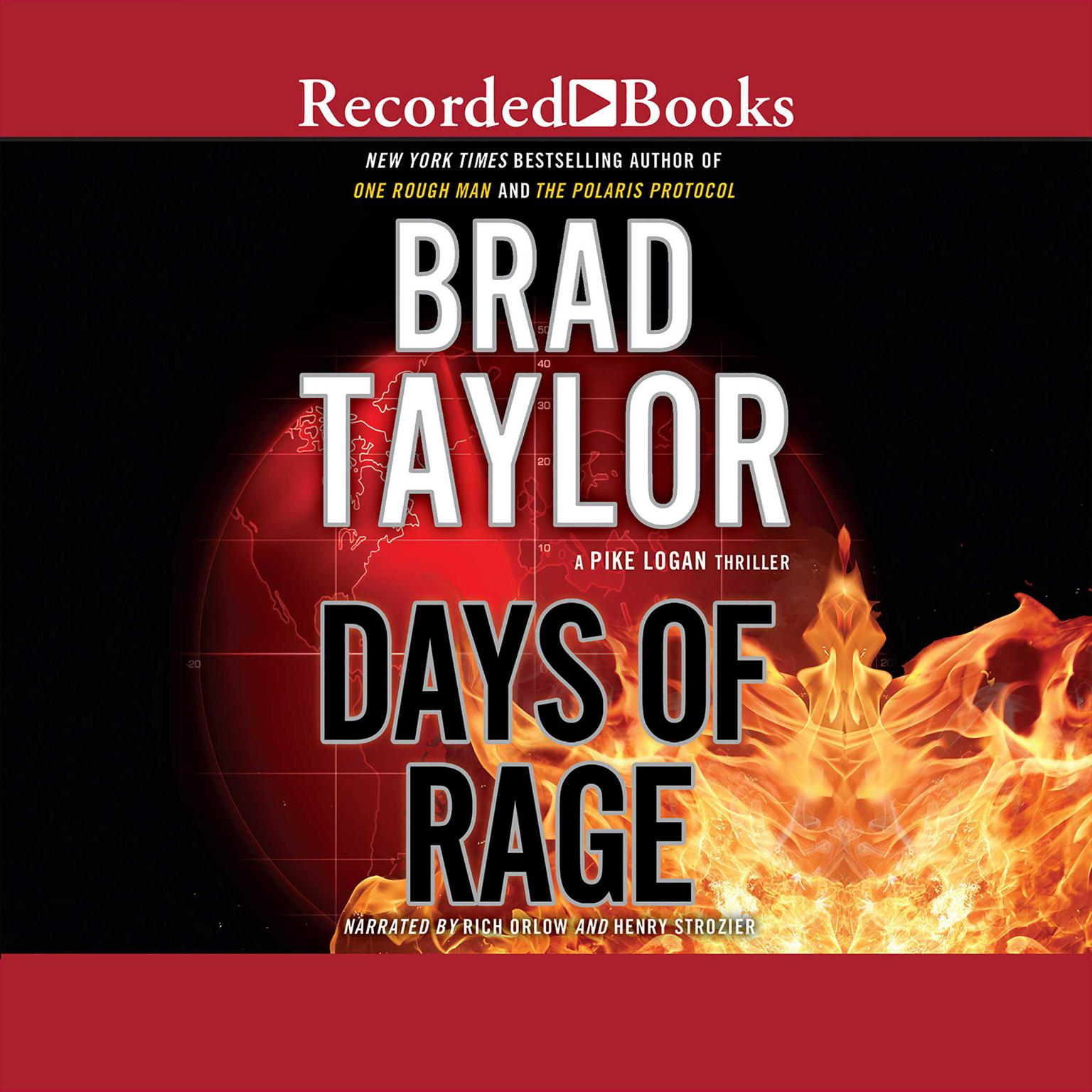 Printable Days of Rage: A Pike Logan Thriller Audiobook Cover Art