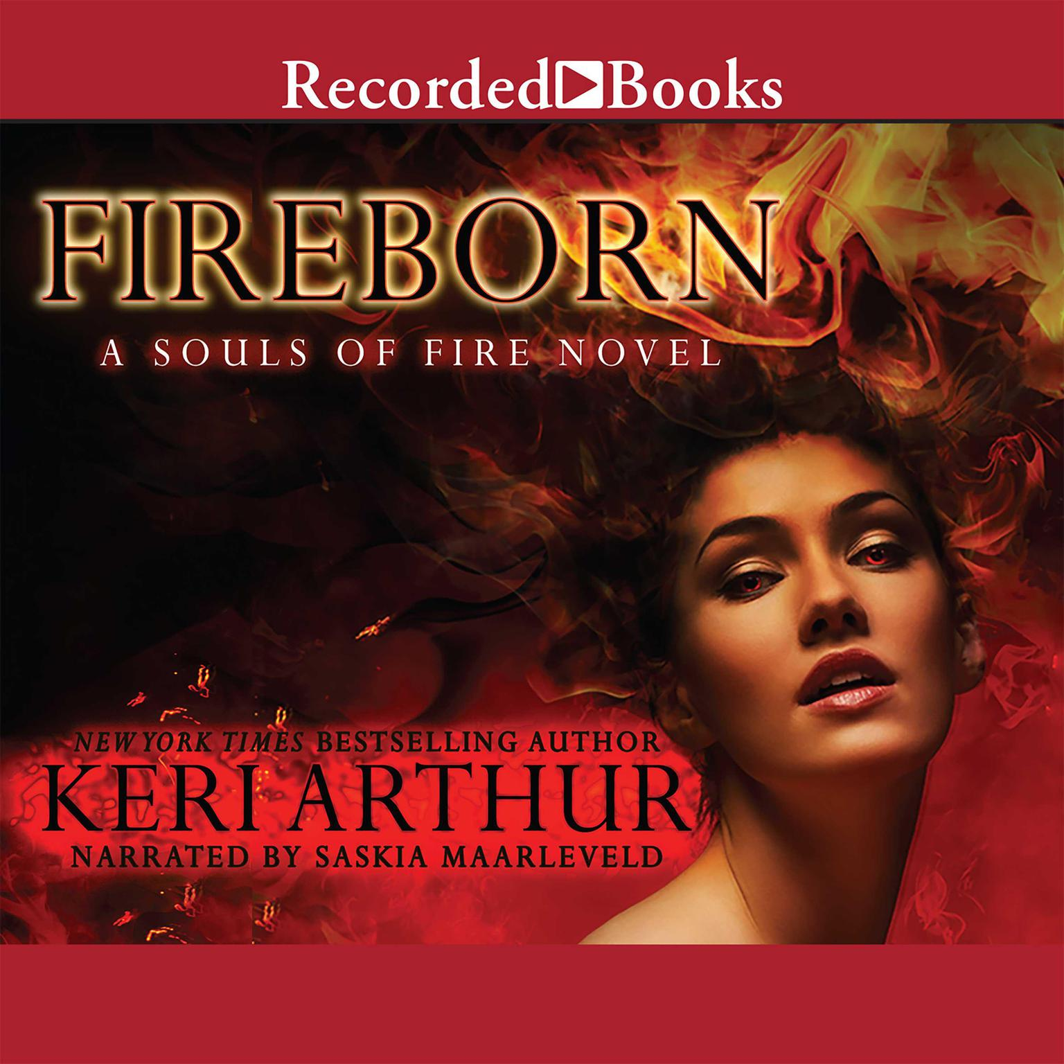 Printable Fireborn Audiobook Cover Art