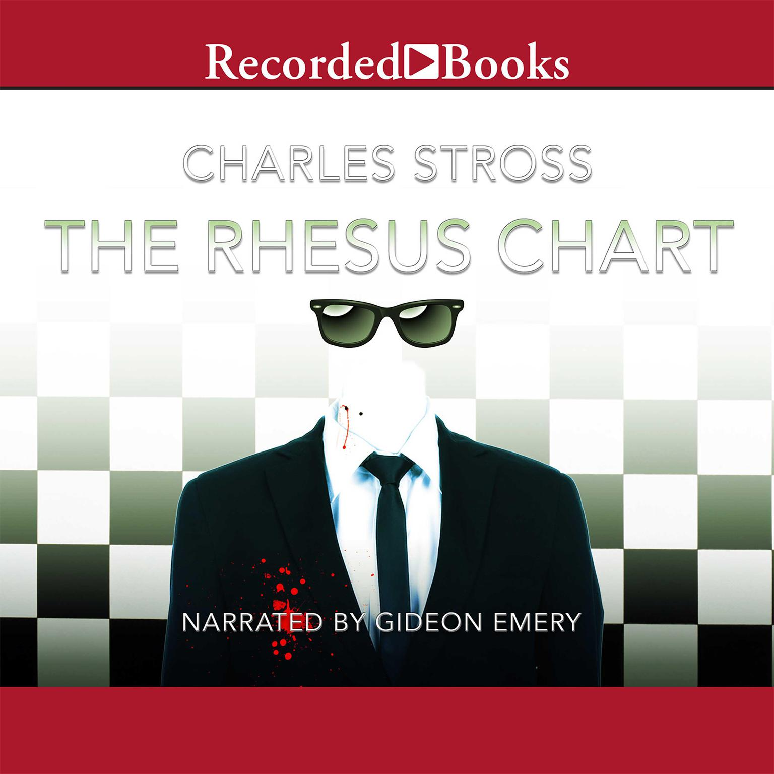 Printable The Rhesus Chart Audiobook Cover Art