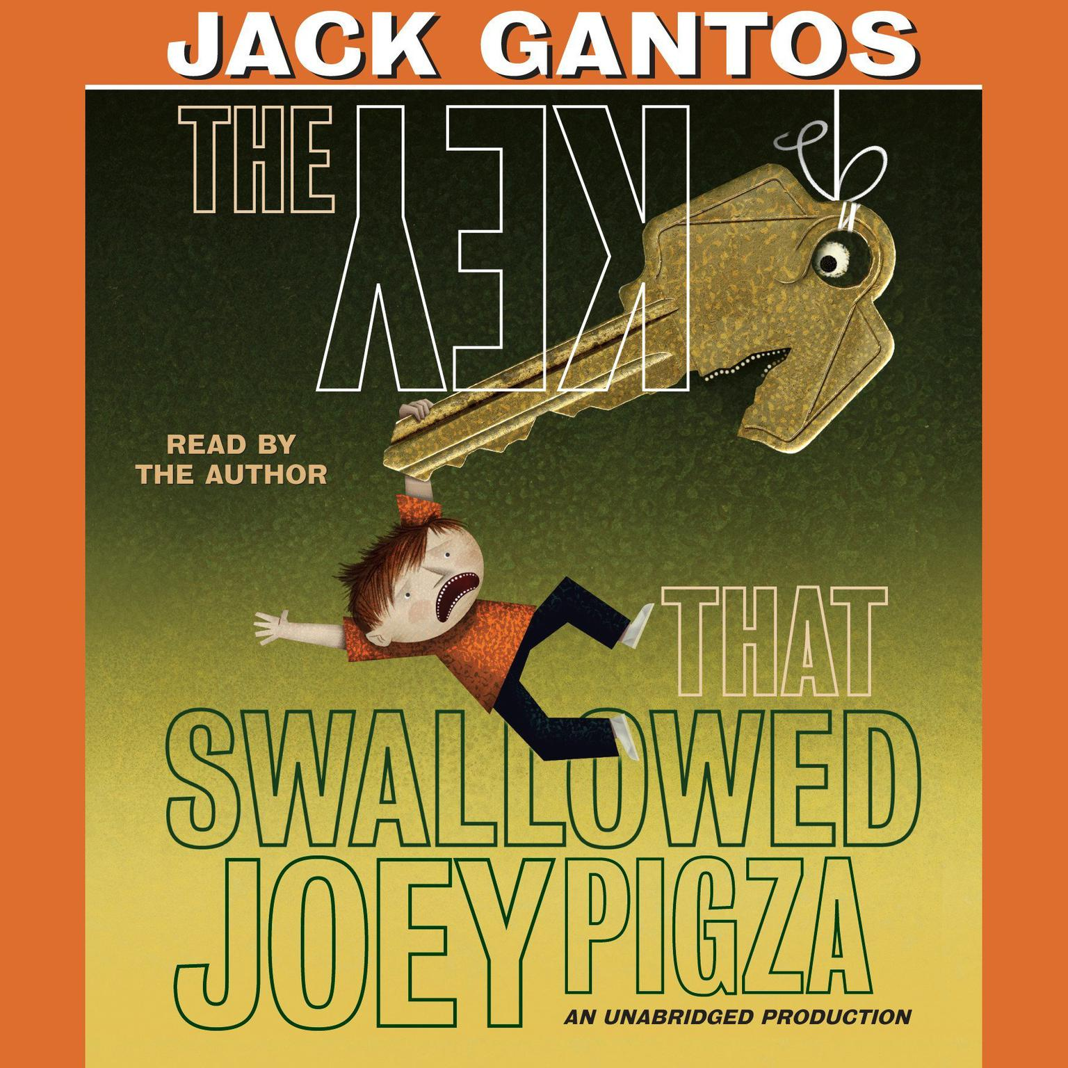 Printable The Key That Swallowed Joey Pigza Audiobook Cover Art