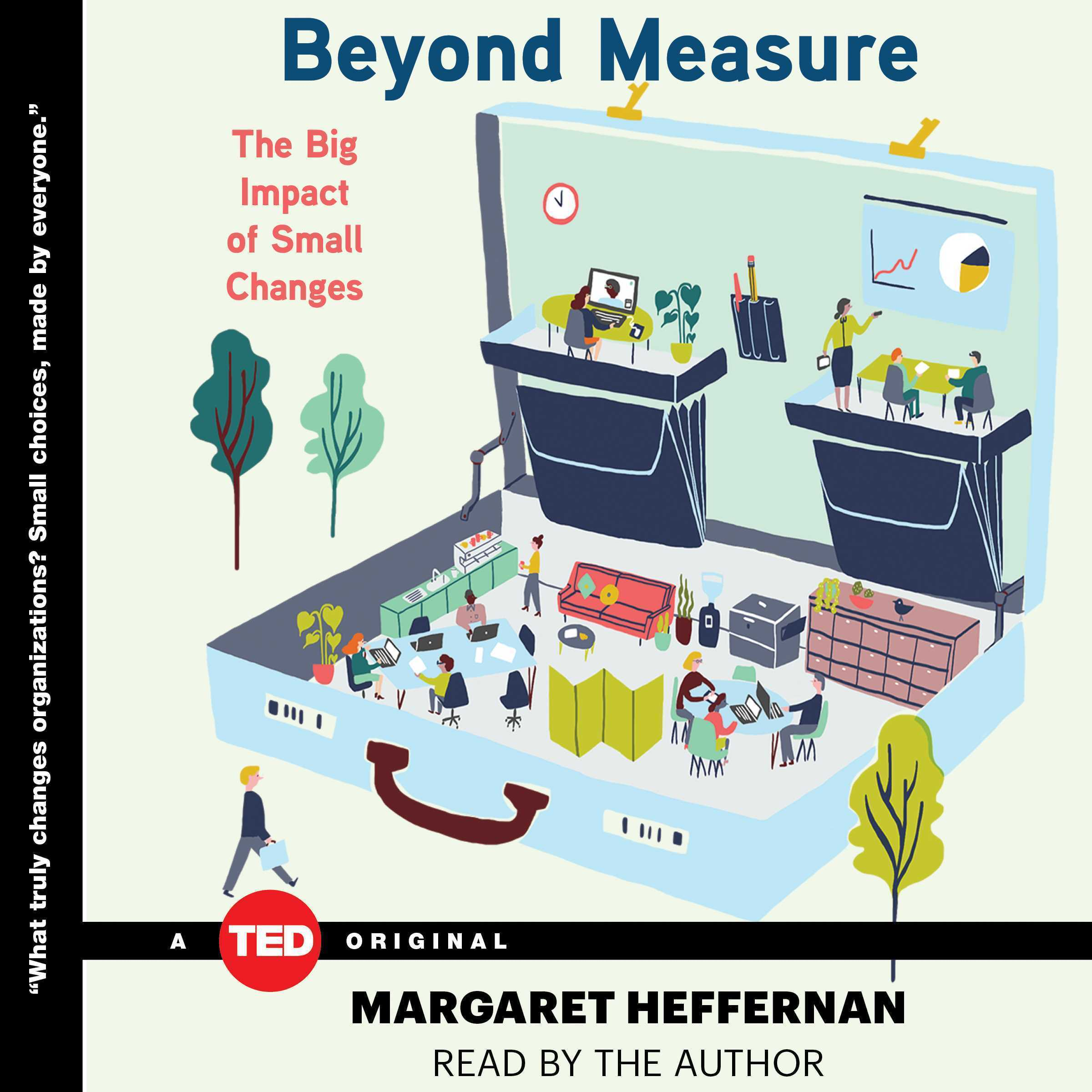 Printable Beyond Measure: The Big Impact of Small Changes Audiobook Cover Art