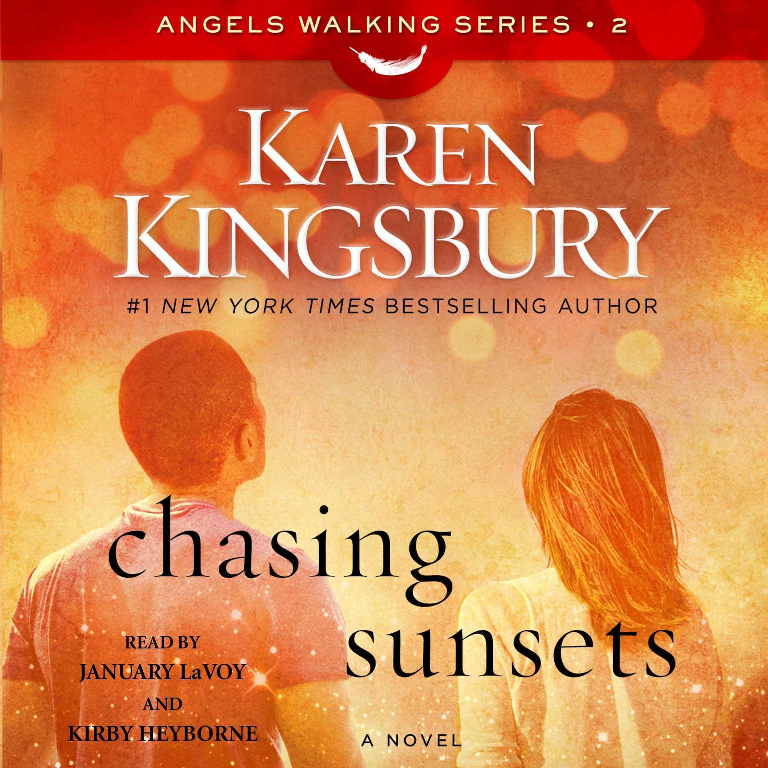 Printable Chasing Sunsets: A Novel Audiobook Cover Art